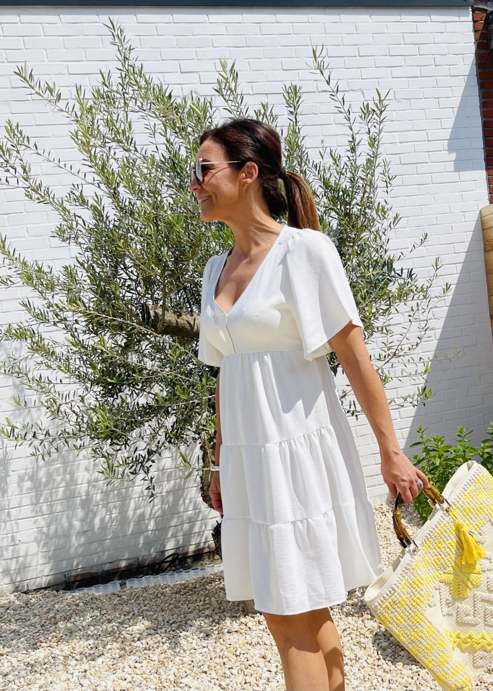 Guts & Goats Nova Creme Dress