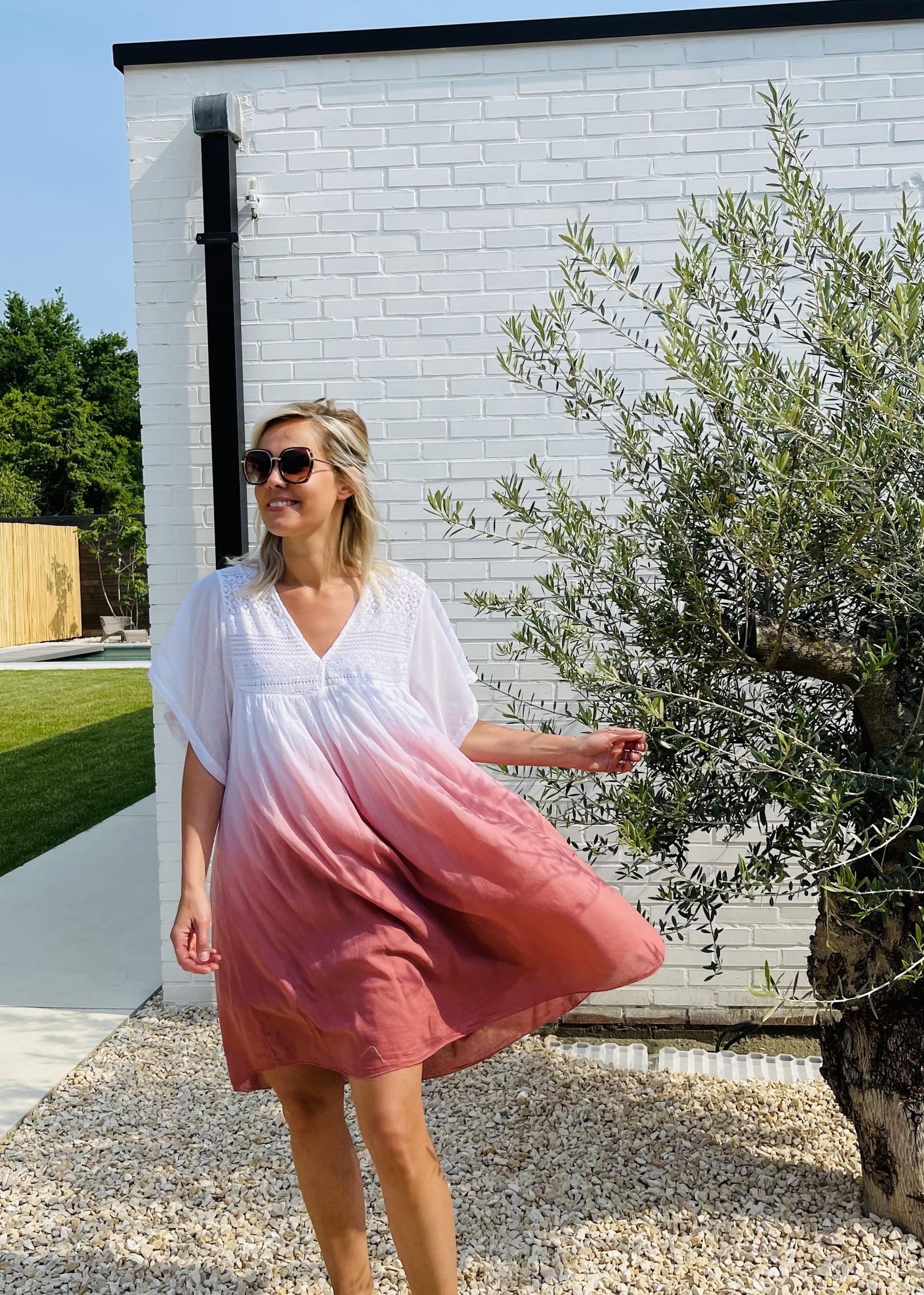 Guts & Goats Olivia Wine Dress