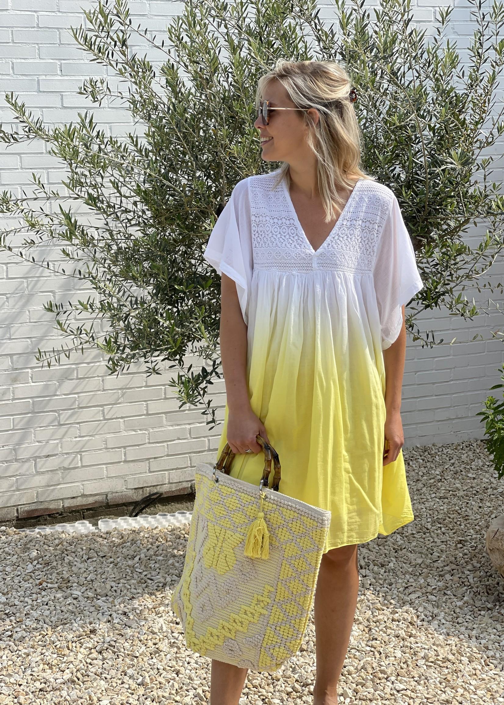 Guts & Goats Olivia Yellow Dress