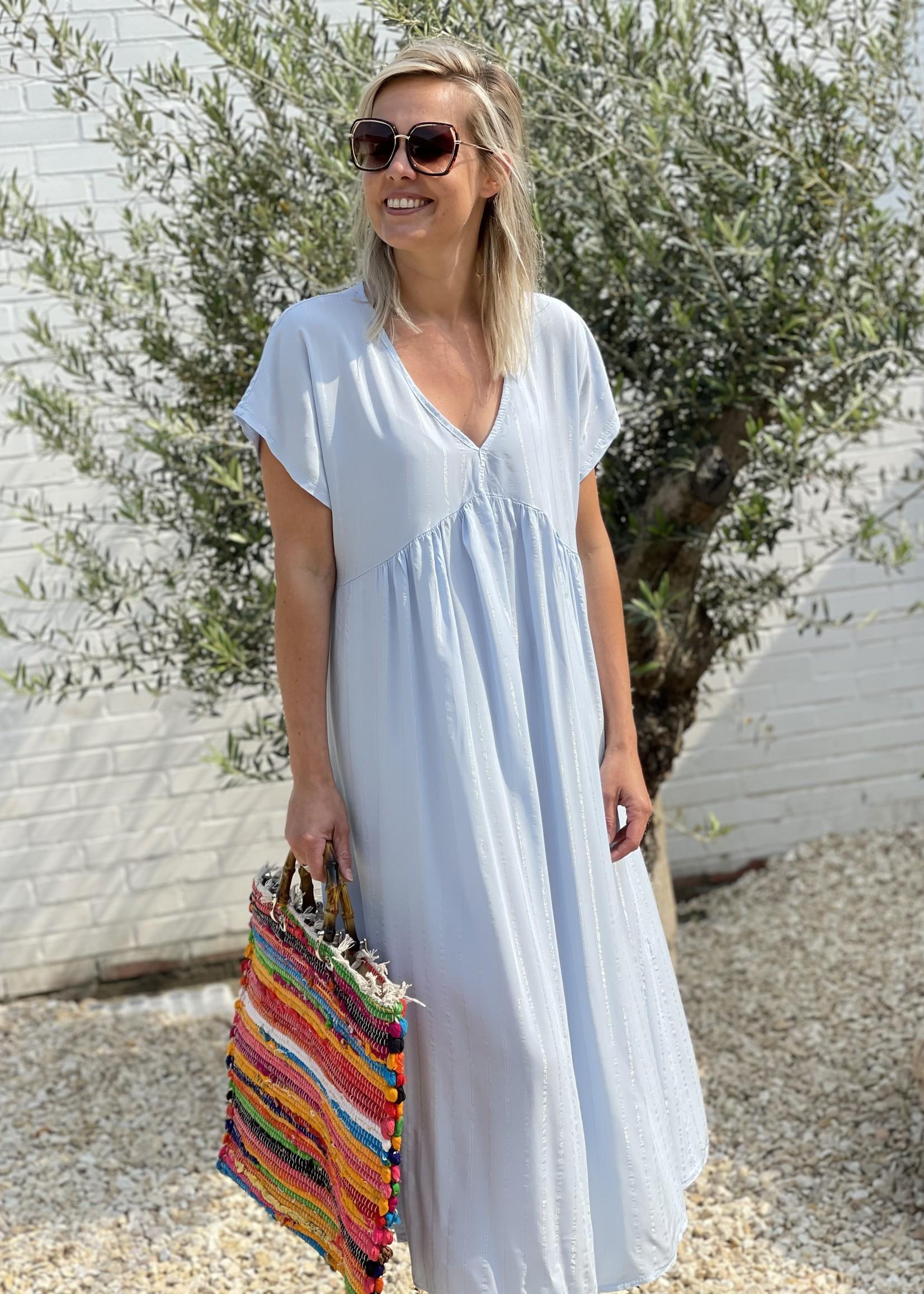 Guts & Goats Audrey Blue Dress