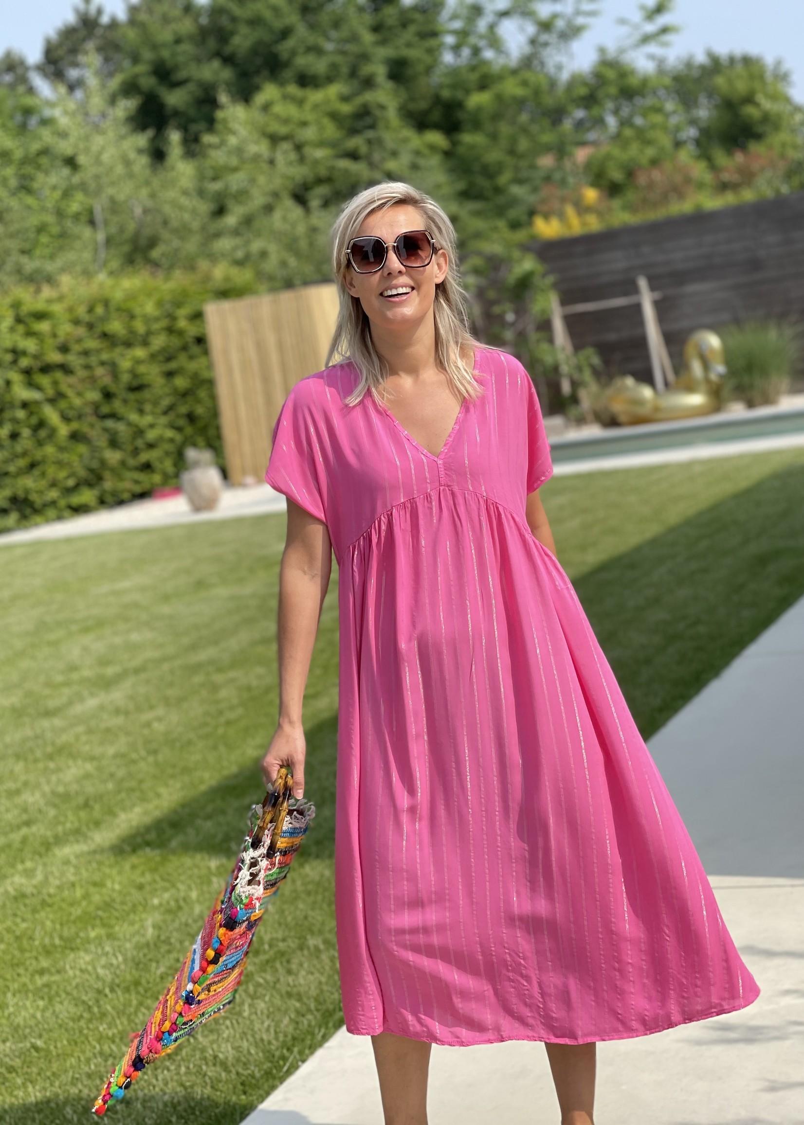 Guts & Goats Audrey Pink Dress