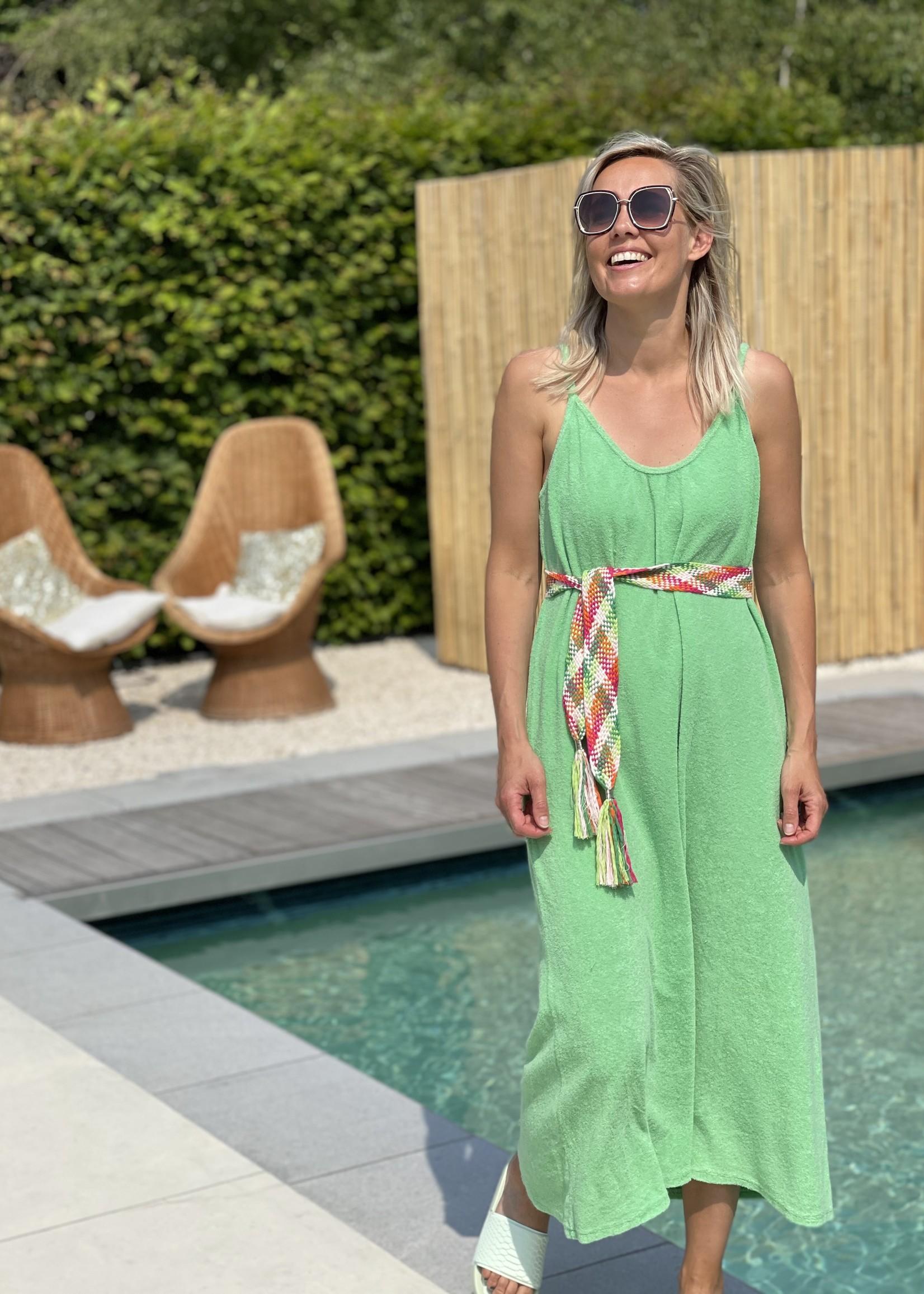 Guts & Goats Sofia Green Dress