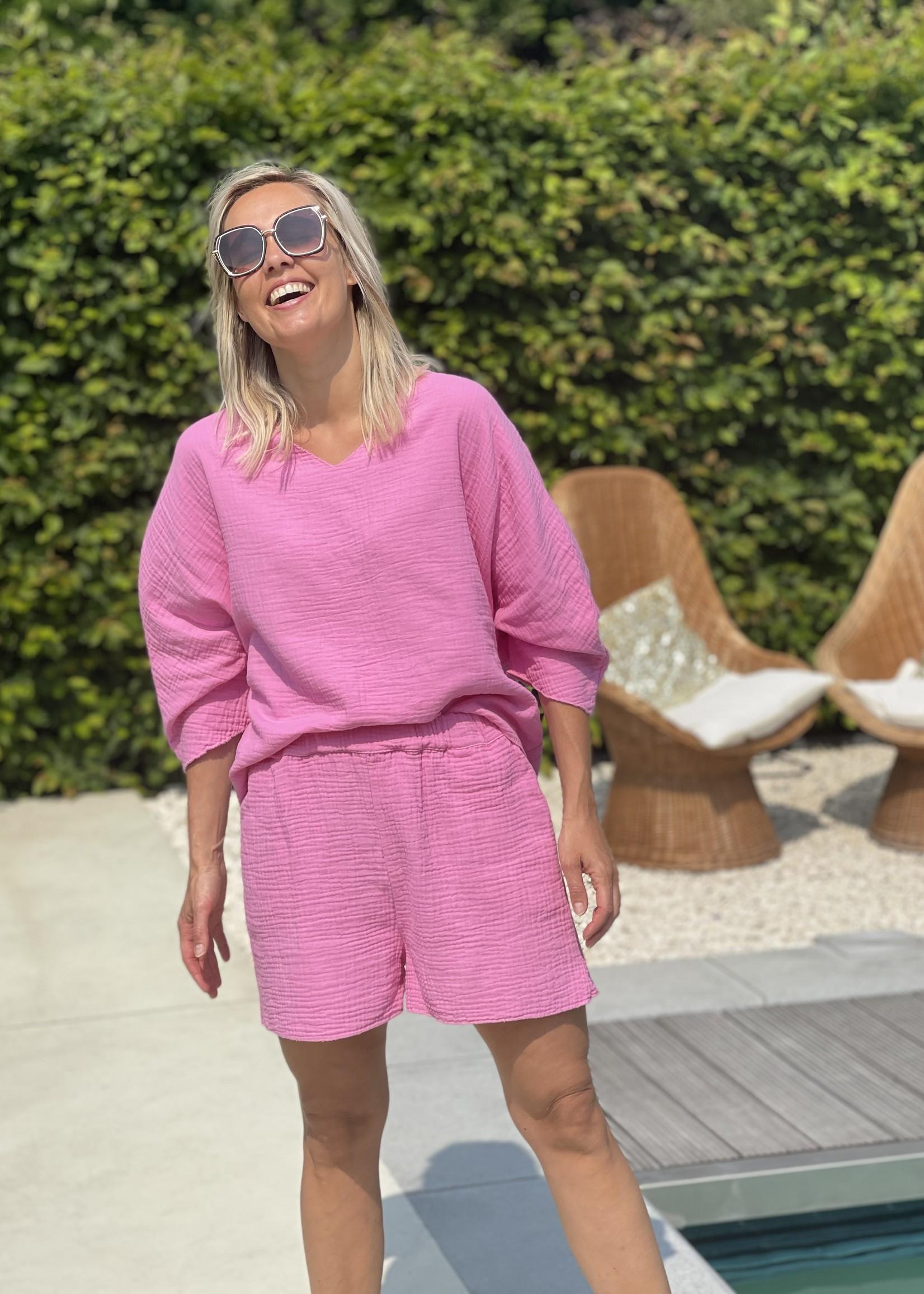 Guts & Goats Jersey Pink Suit