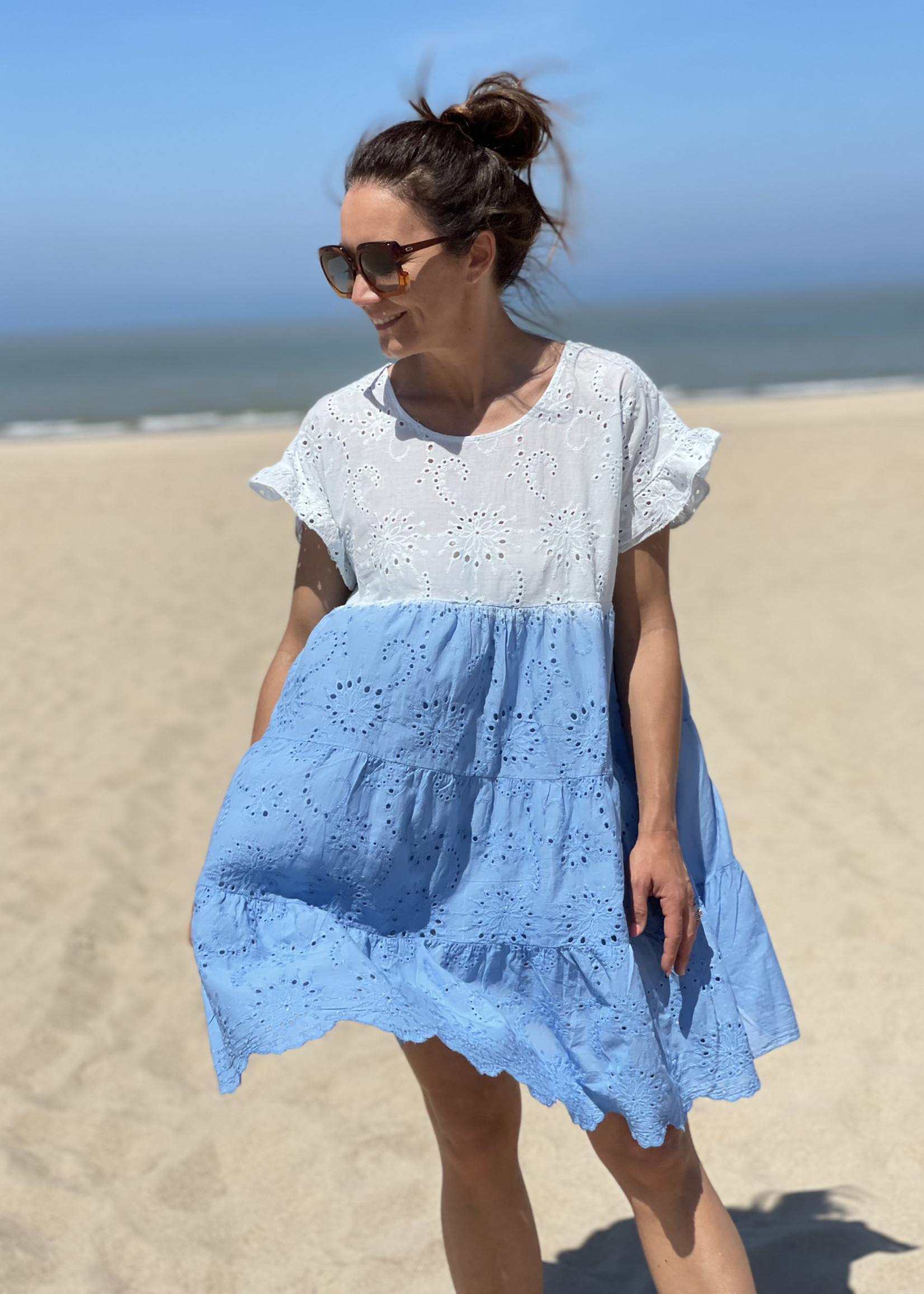 Guts & Goats Milani Blue Dress