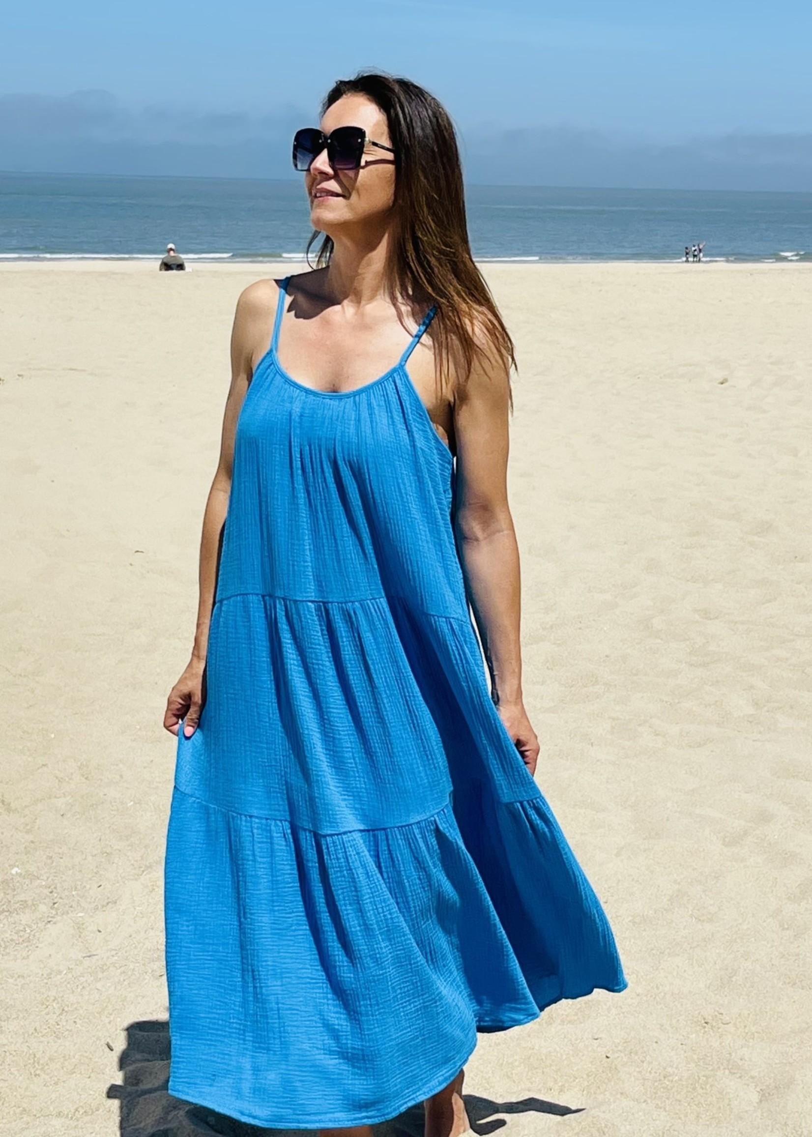 Guts & Goats Gabriella Blue Dress