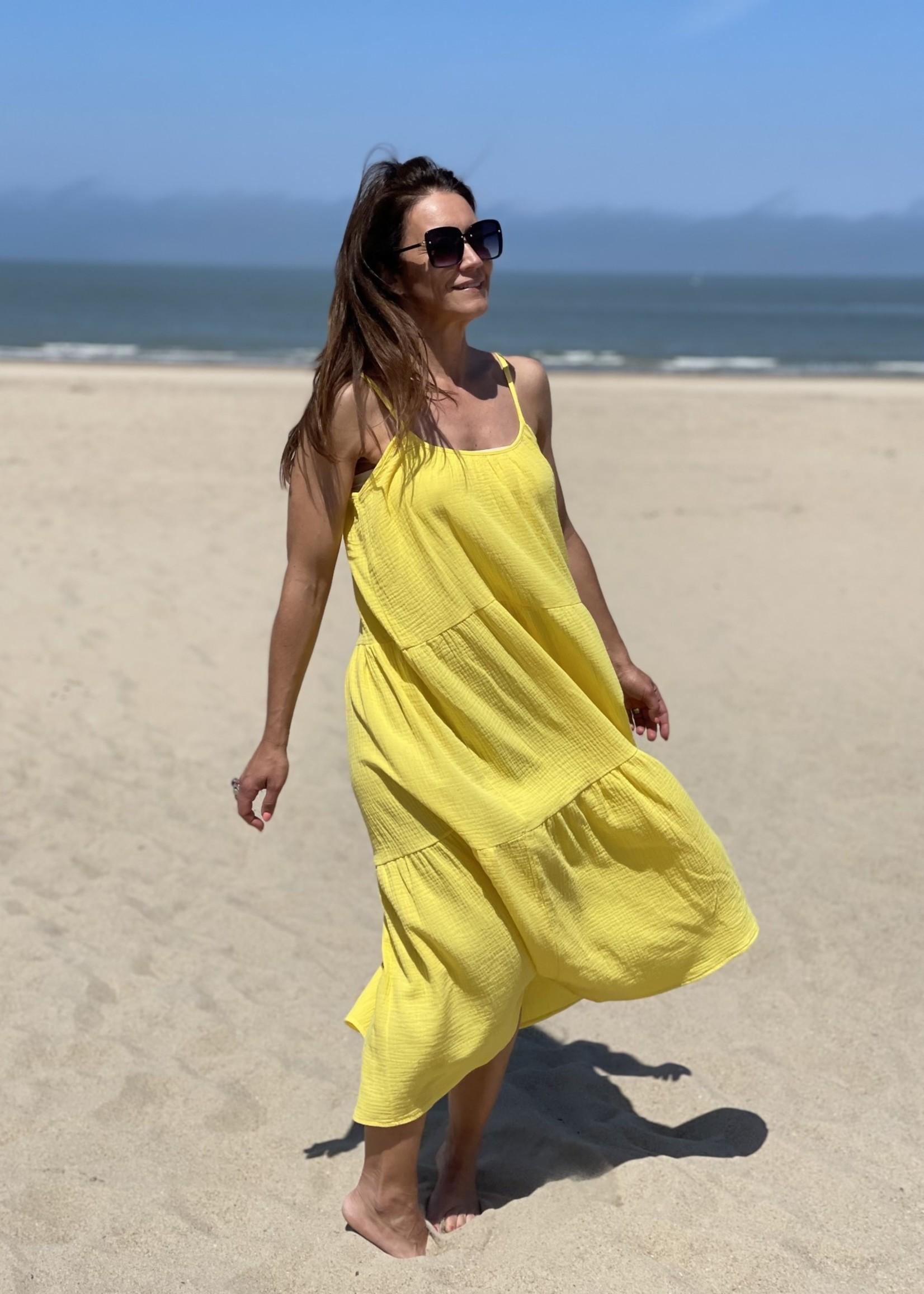 Guts & Goats Gabriella Yellow Dress