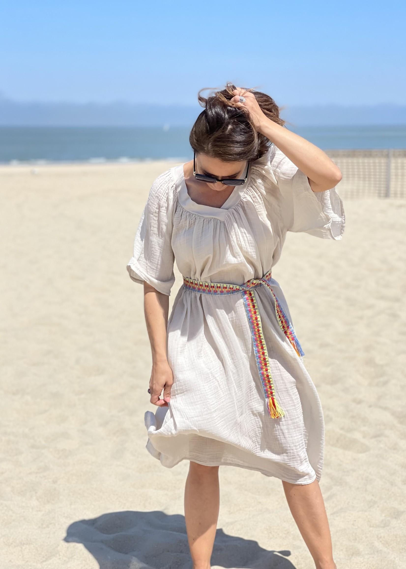 Guts & Goats Joanna Creme Dress