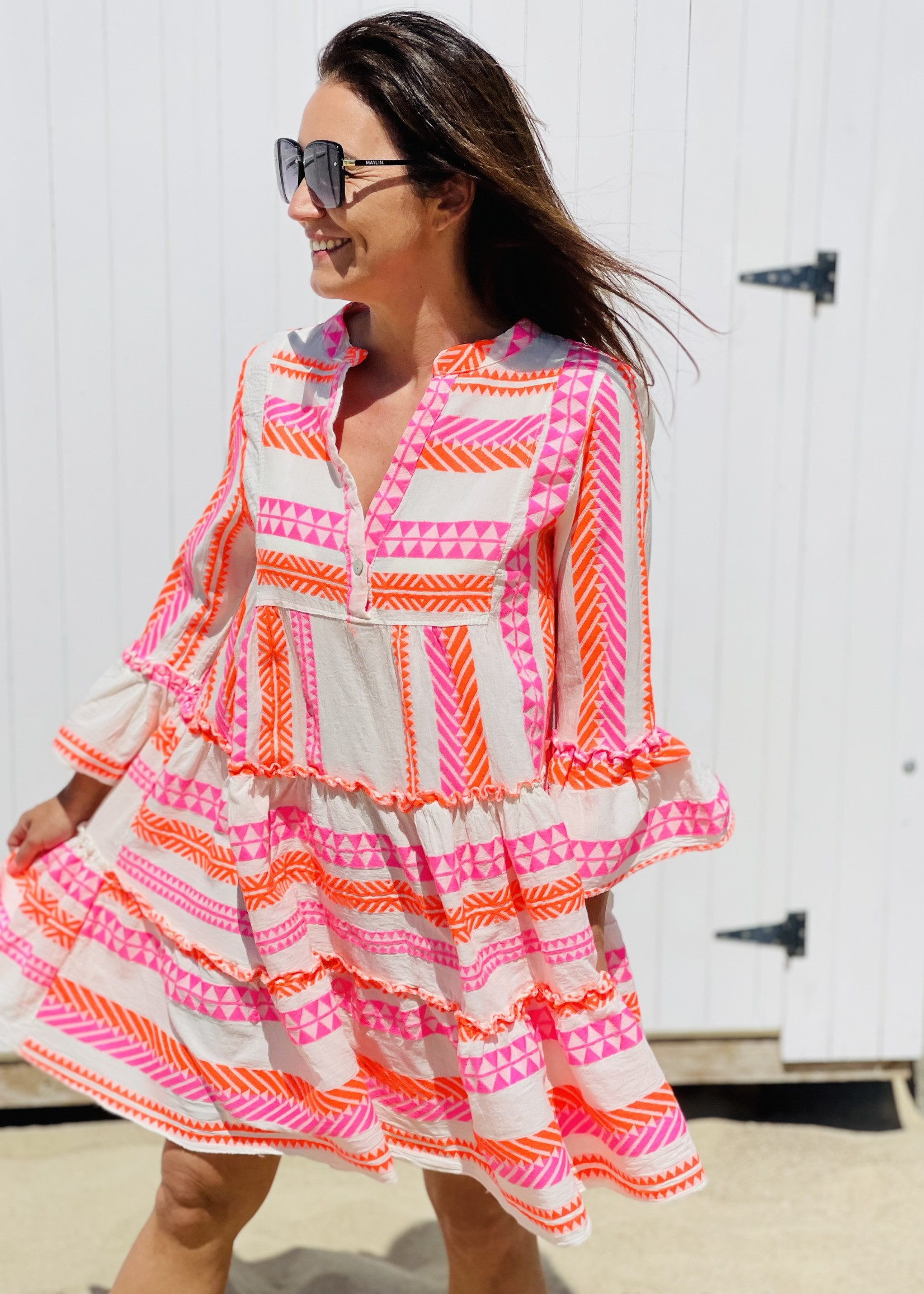 Guts & Goats Greek Fluo Dress