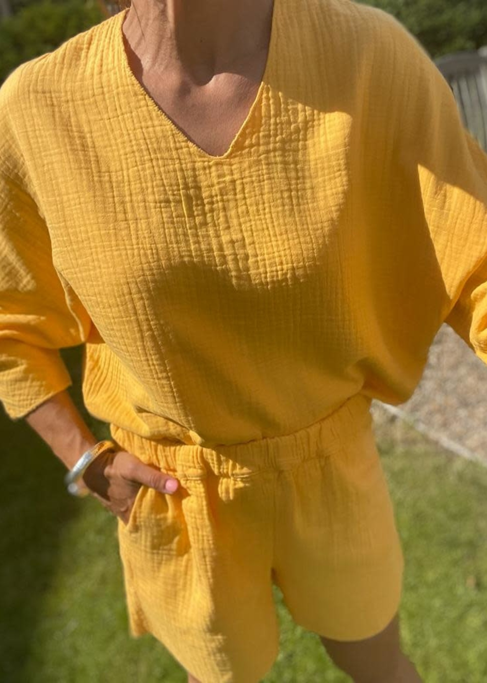 Guts & Goats Jersey Yellow Suit