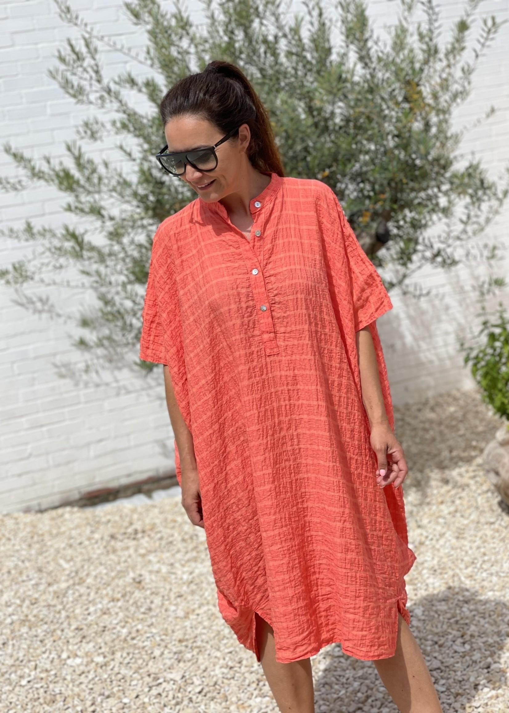 Guts & Goats Eliza Coral Dress