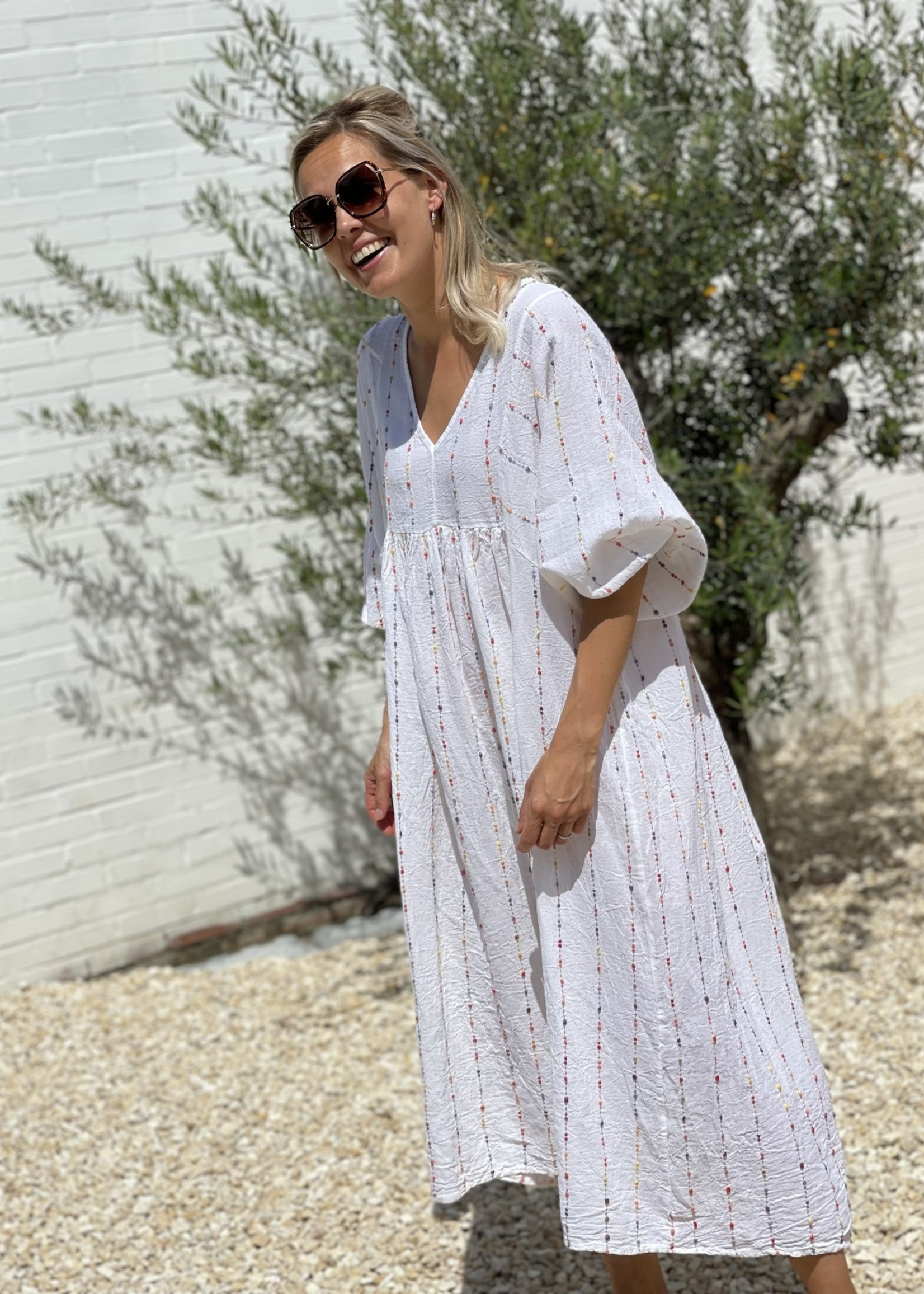 Guts & Goats Vivienne White Dress