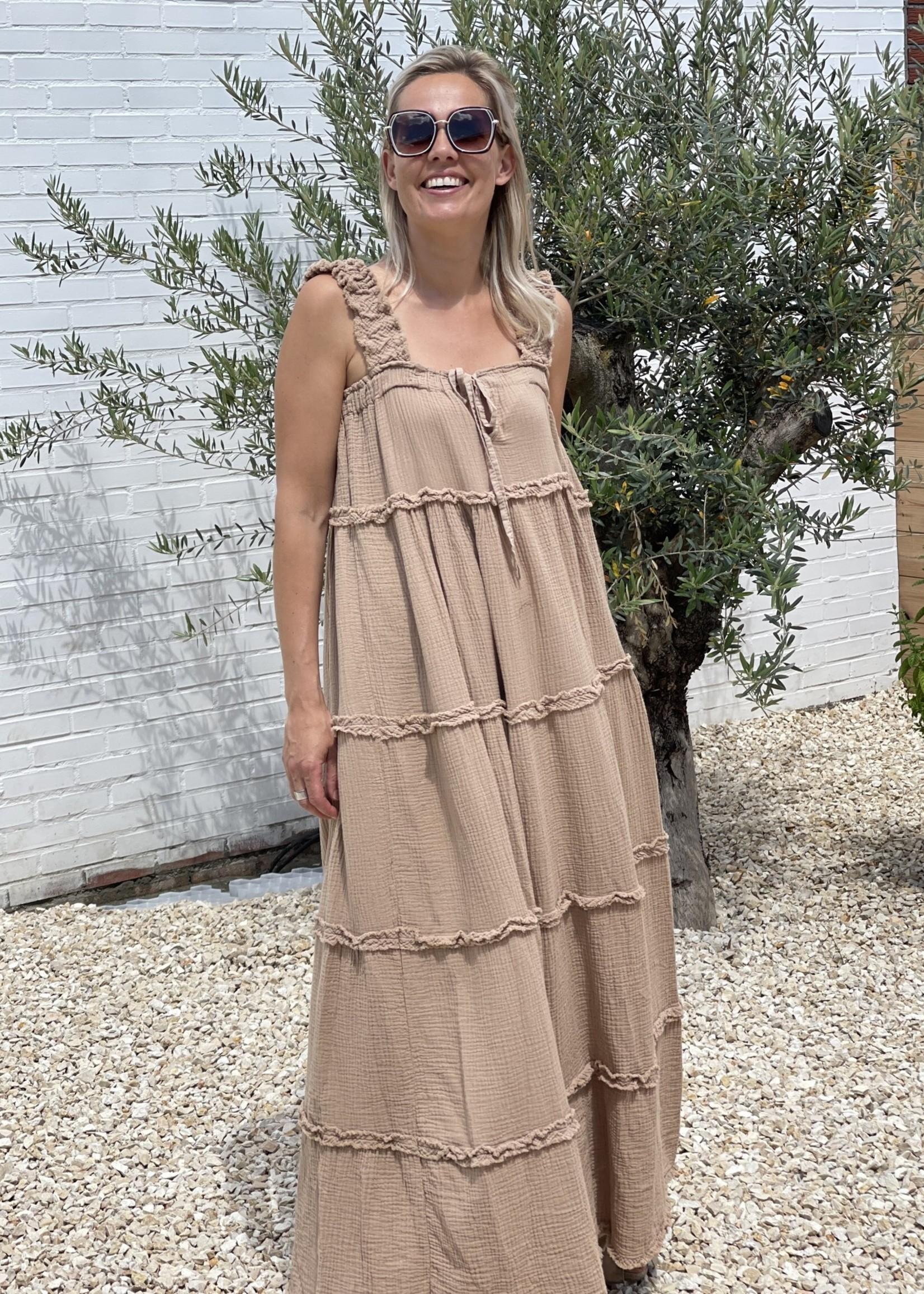 Guts & Goats Willow  Camel Dress