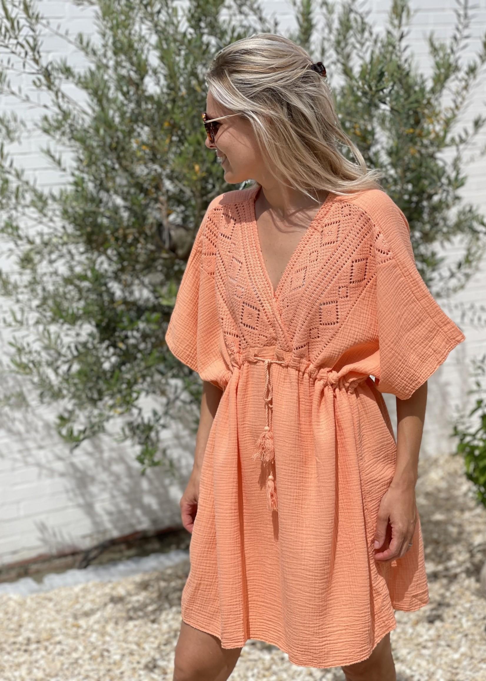 Guts & Goats Parker Coral Dress