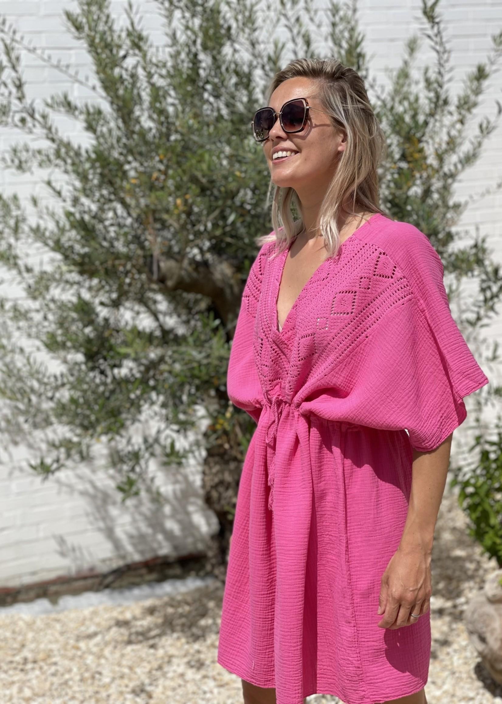 Guts & Goats Parker Fuchsia Dress