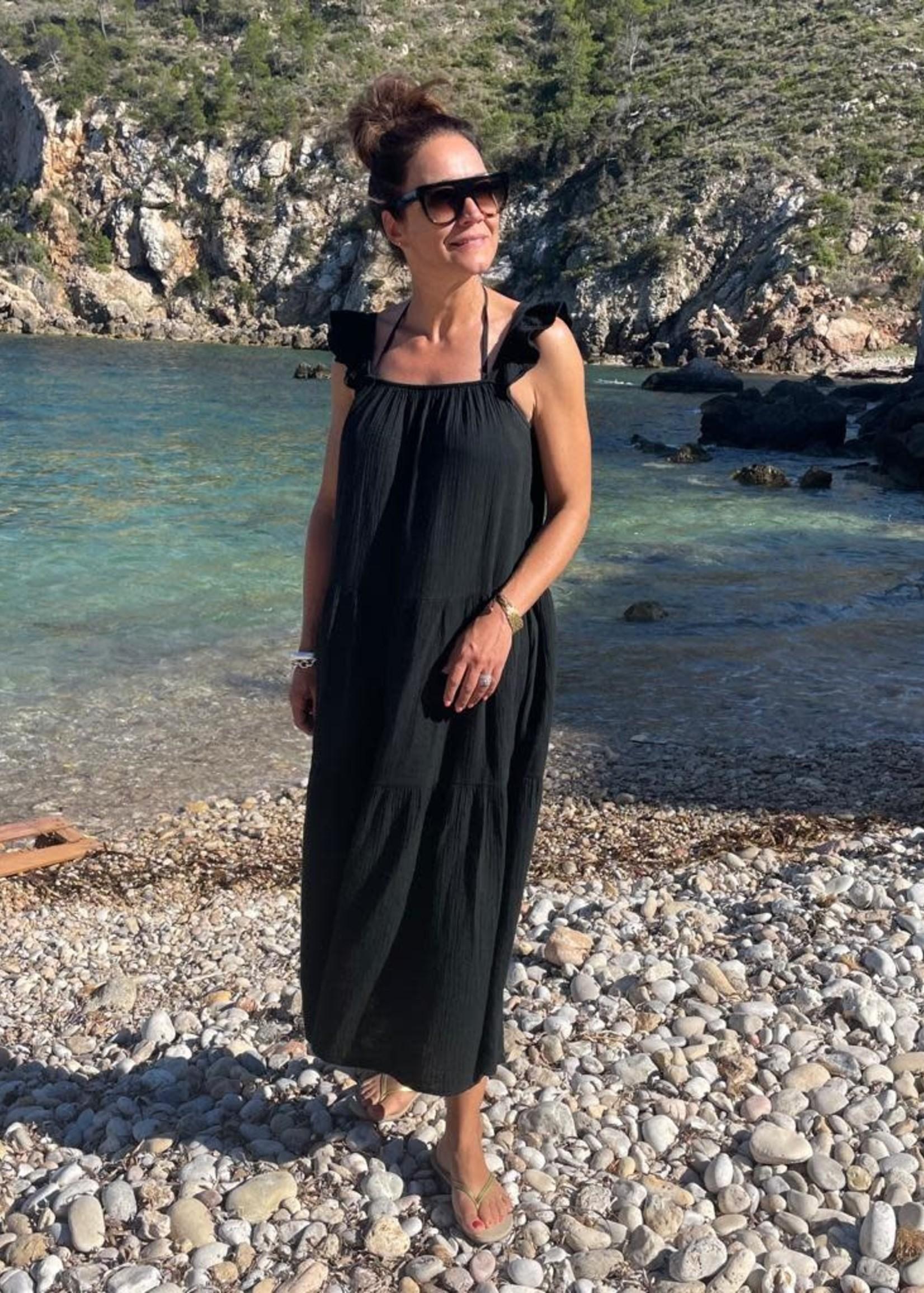 Guts & Goats Molly Black Dress