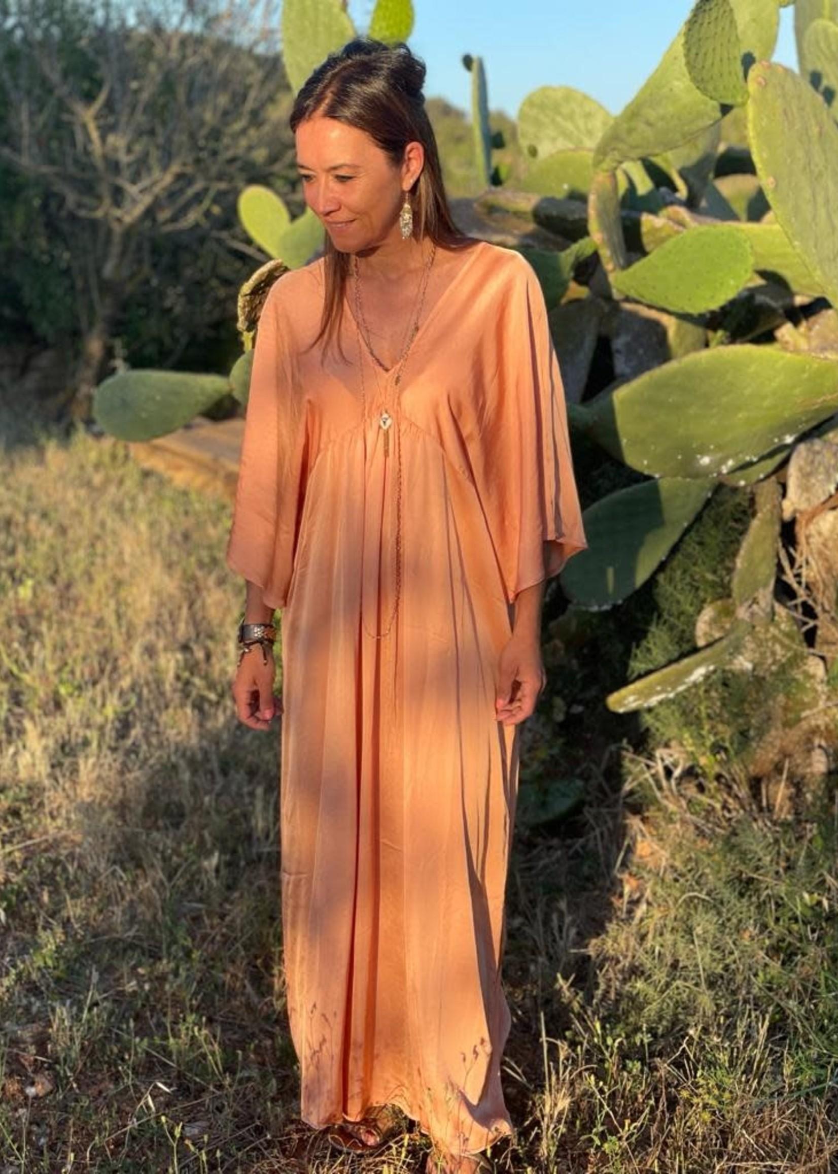 Guts & Goats Penelope Salmon Dress