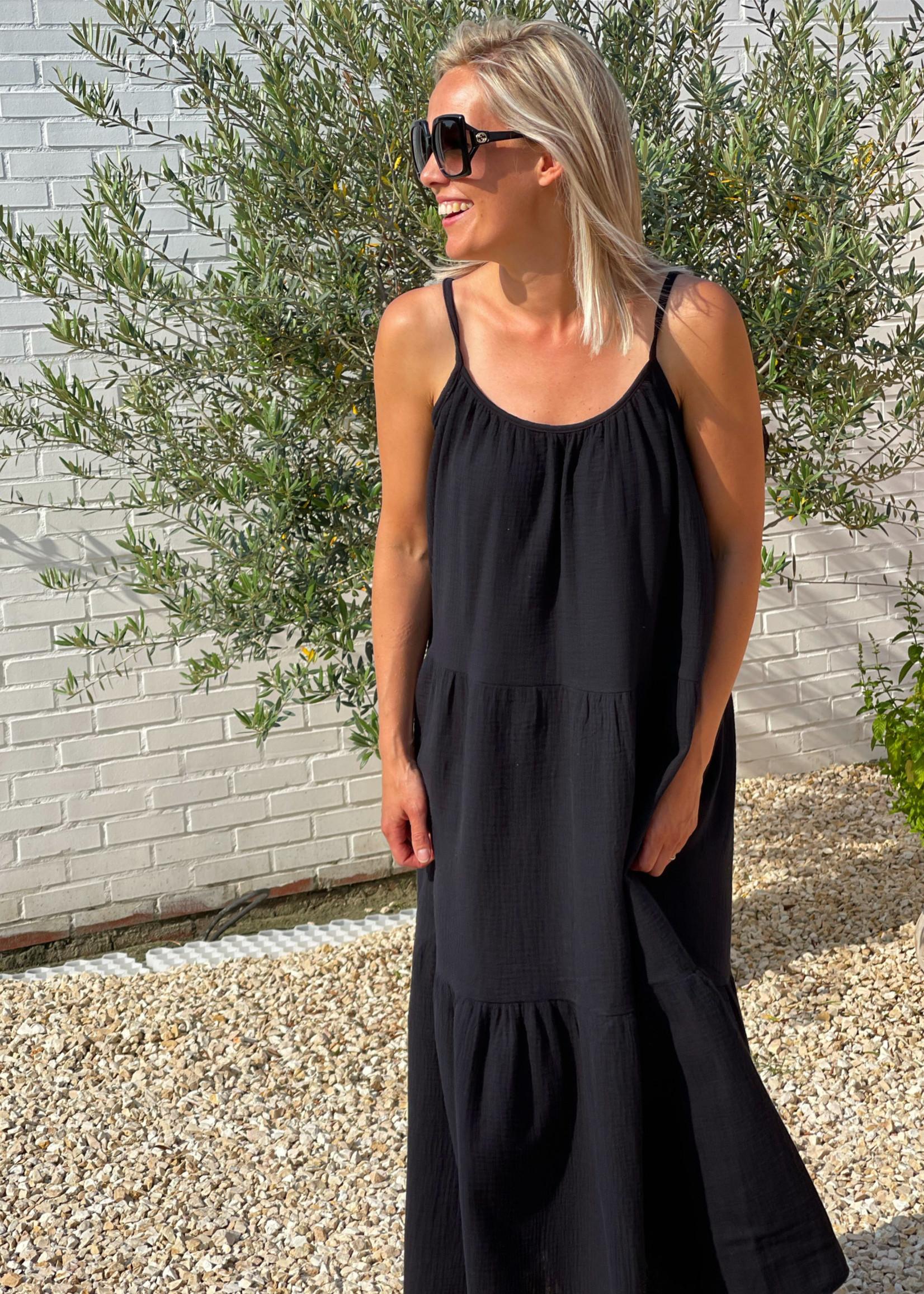 Guts & Goats Gabriella Black Dress