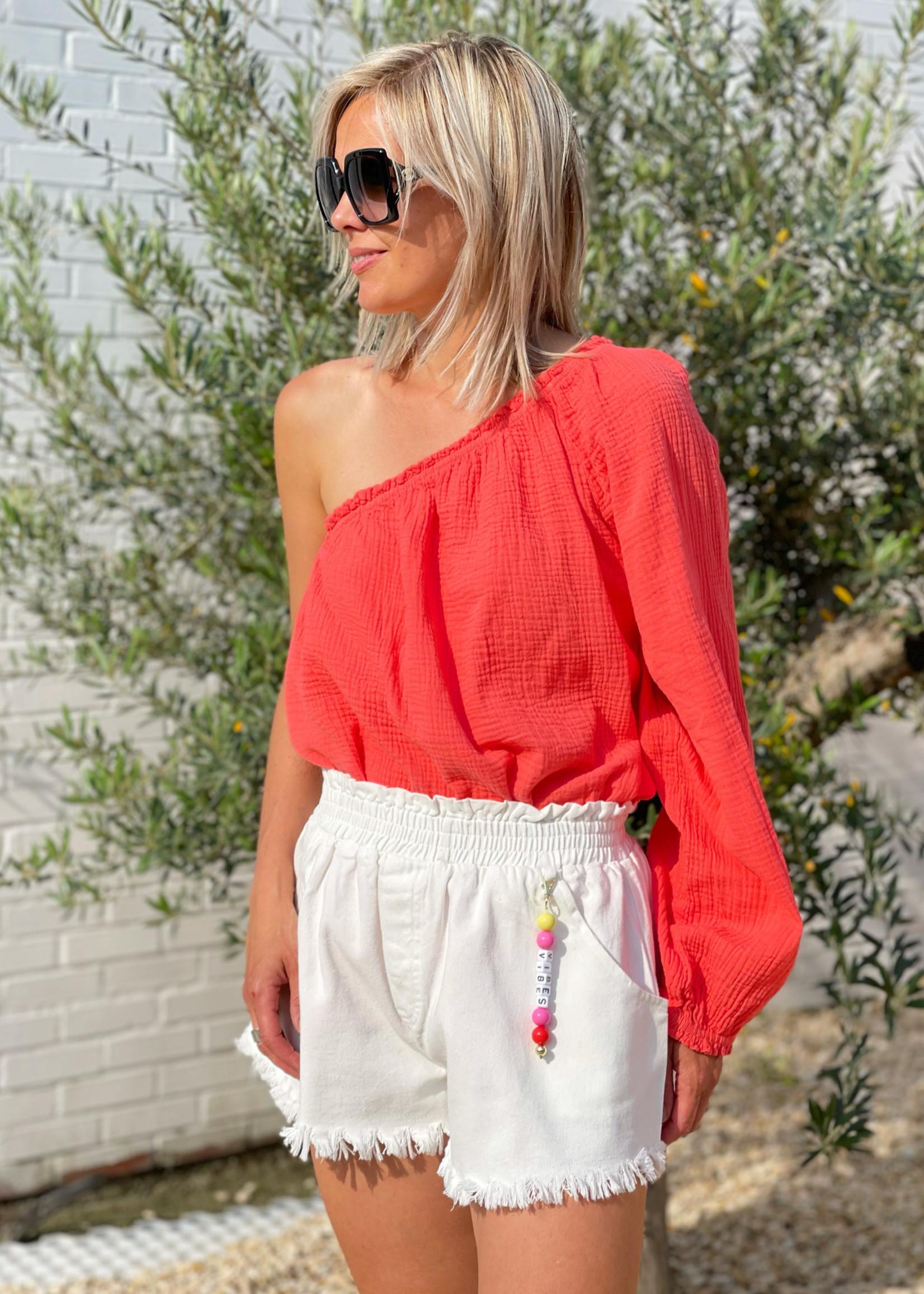 Guts & Goats Mila White Shorts