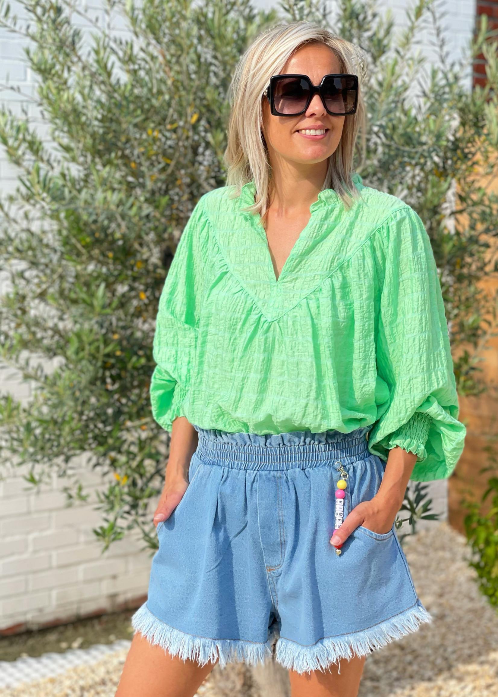 Guts & Goats Mila Denim Shorts