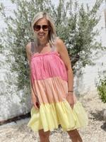 Guts & Goats Lea Tea Dress Pastel