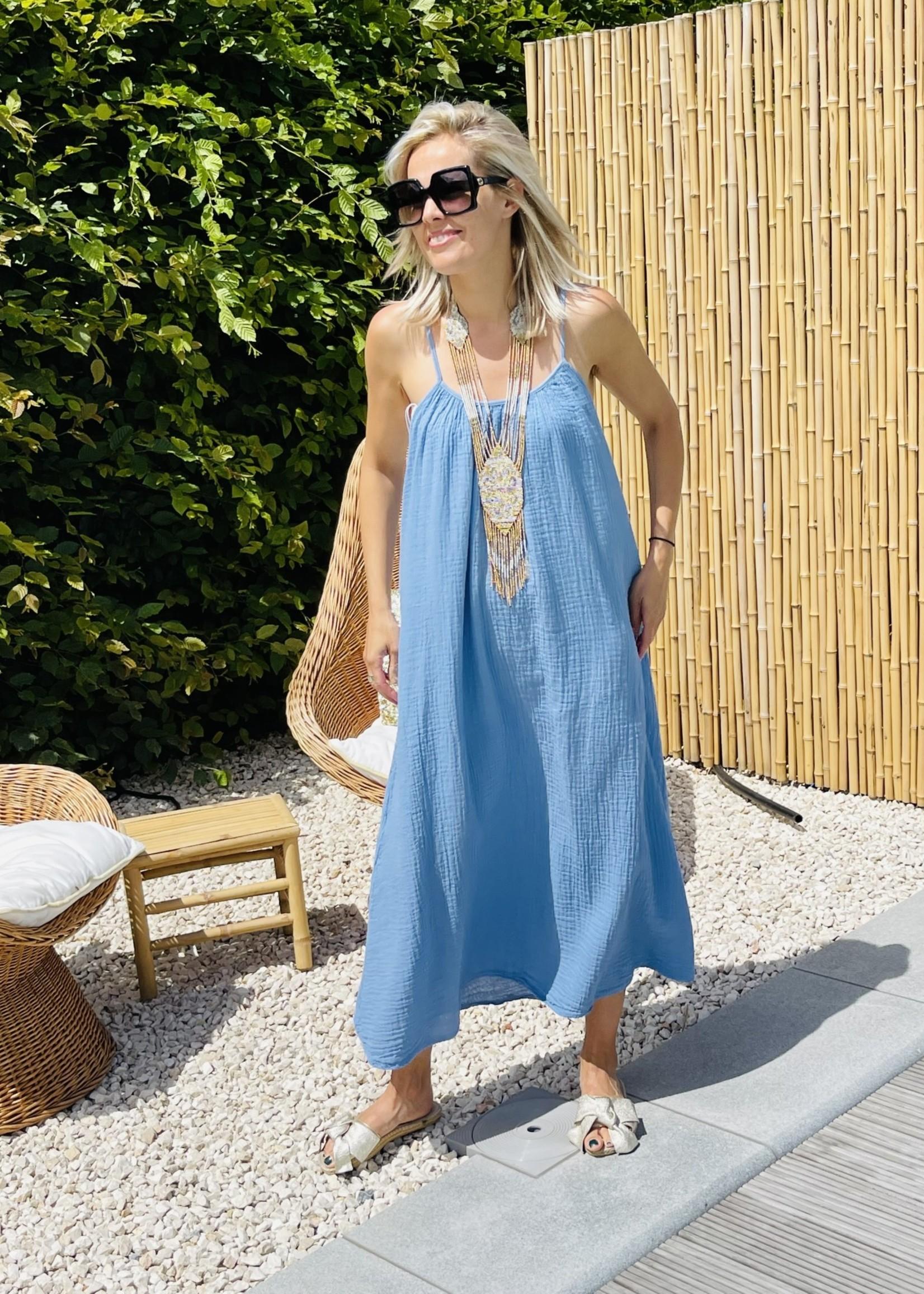 Guts & Goats Adisson Blue Dress