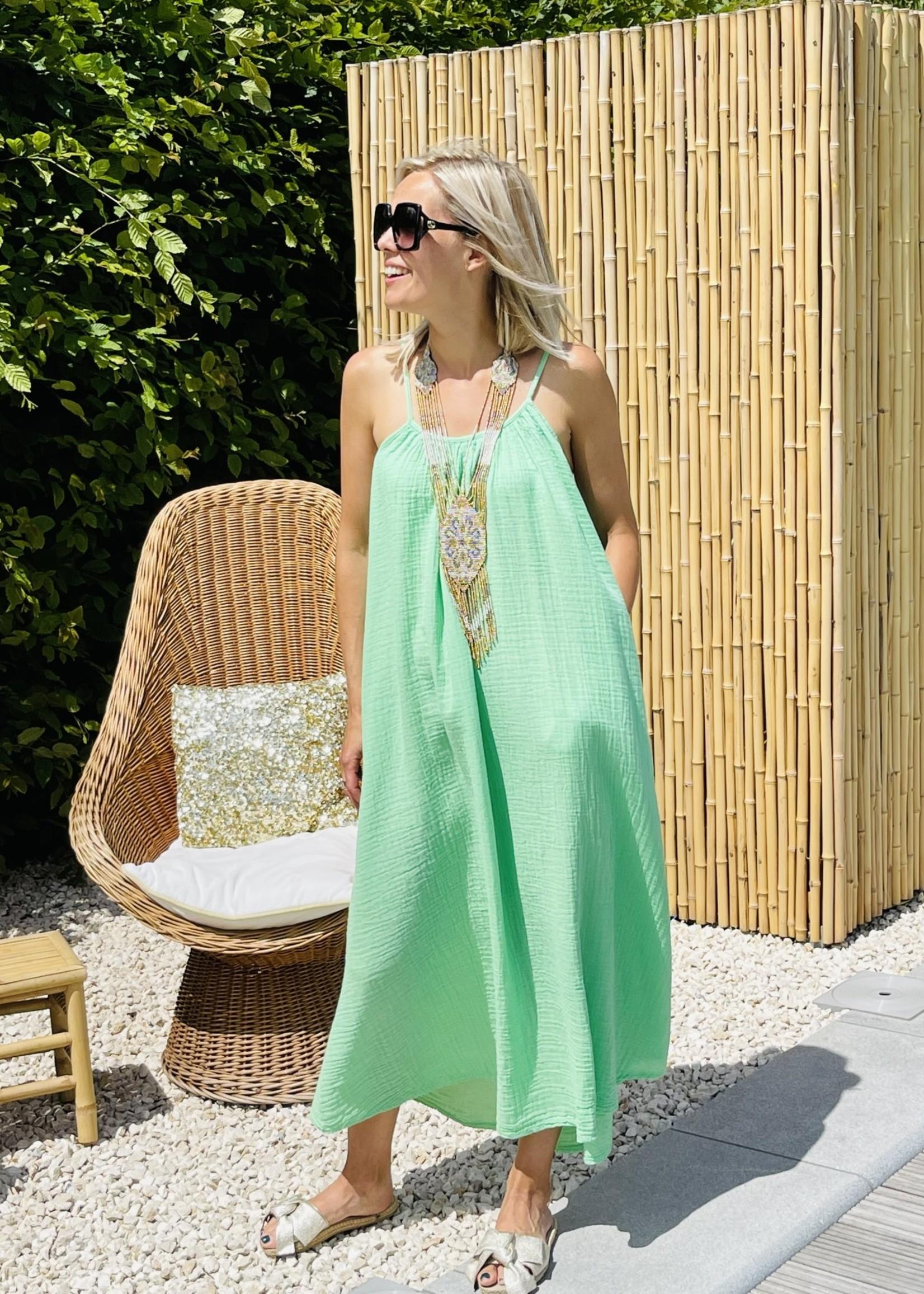 Guts & Goats Adisson Apple Green Dress