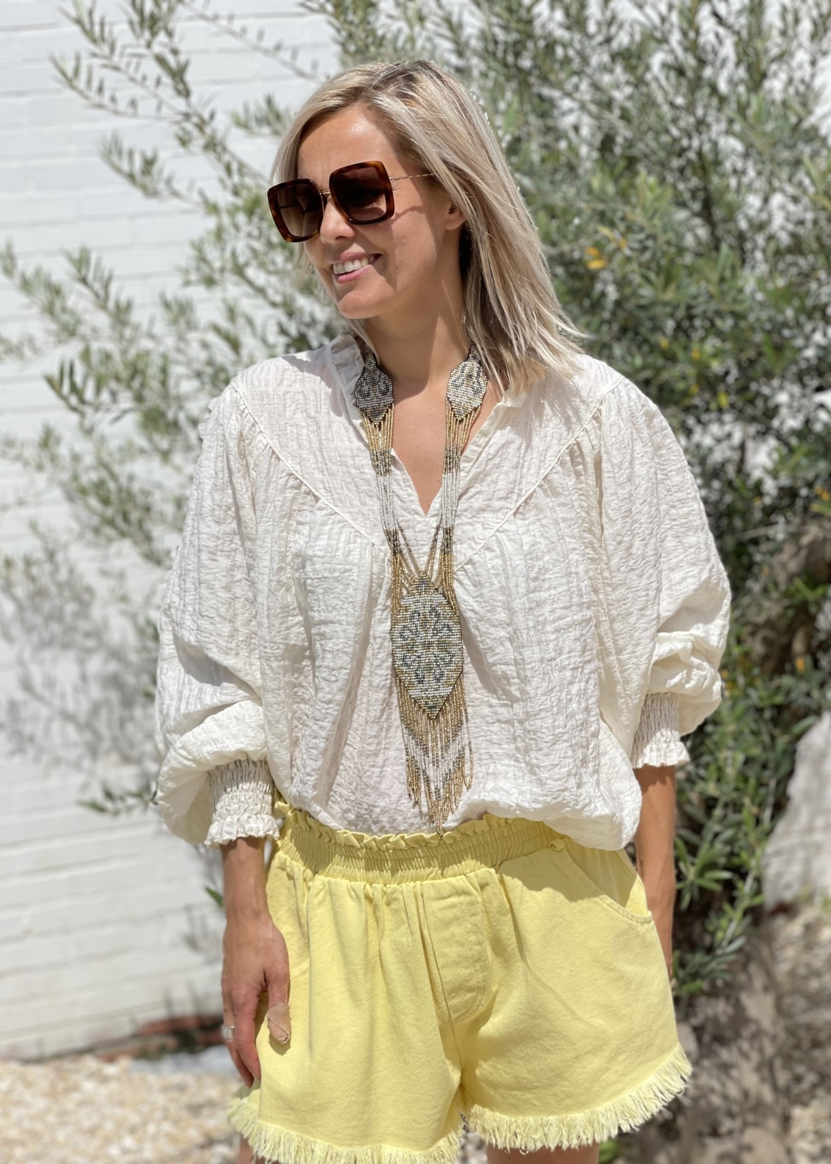 Guts & Goats Mary Creme Top