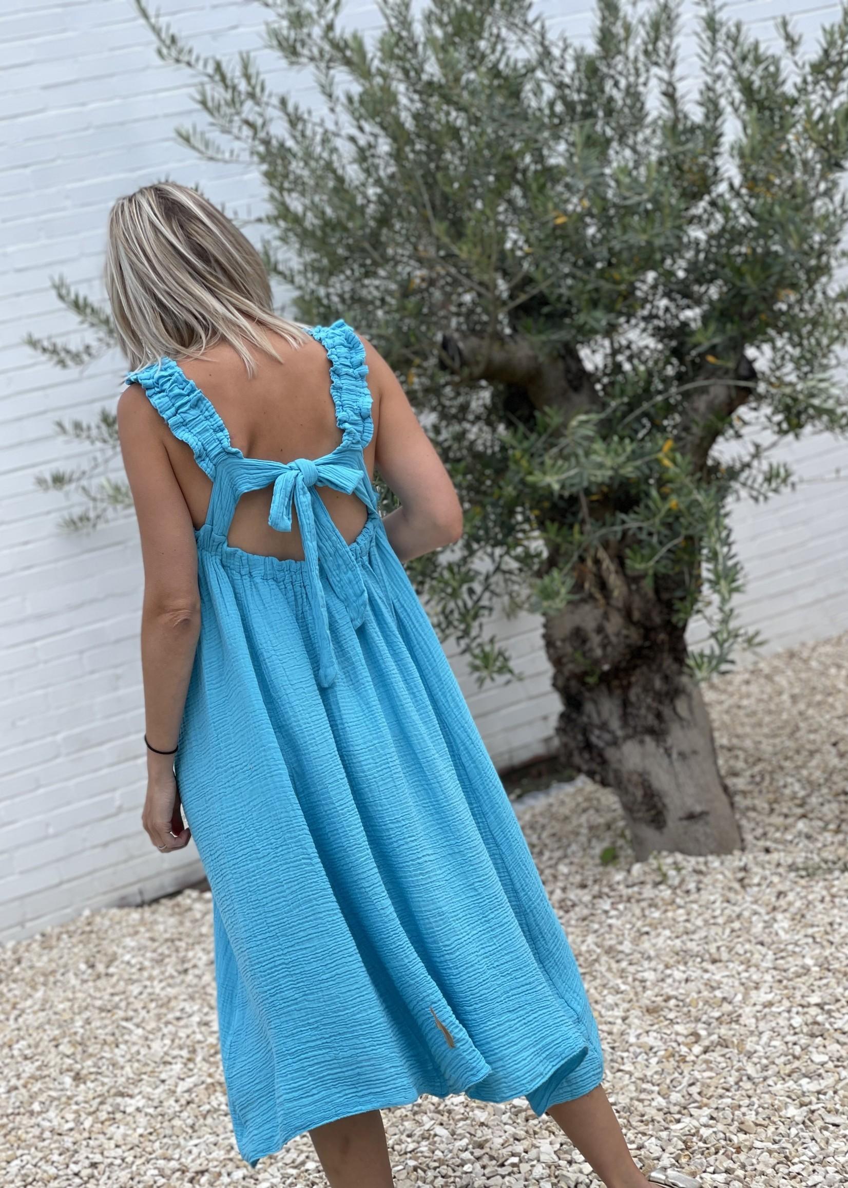 Guts & Goats Scarlett Turquoise Dress