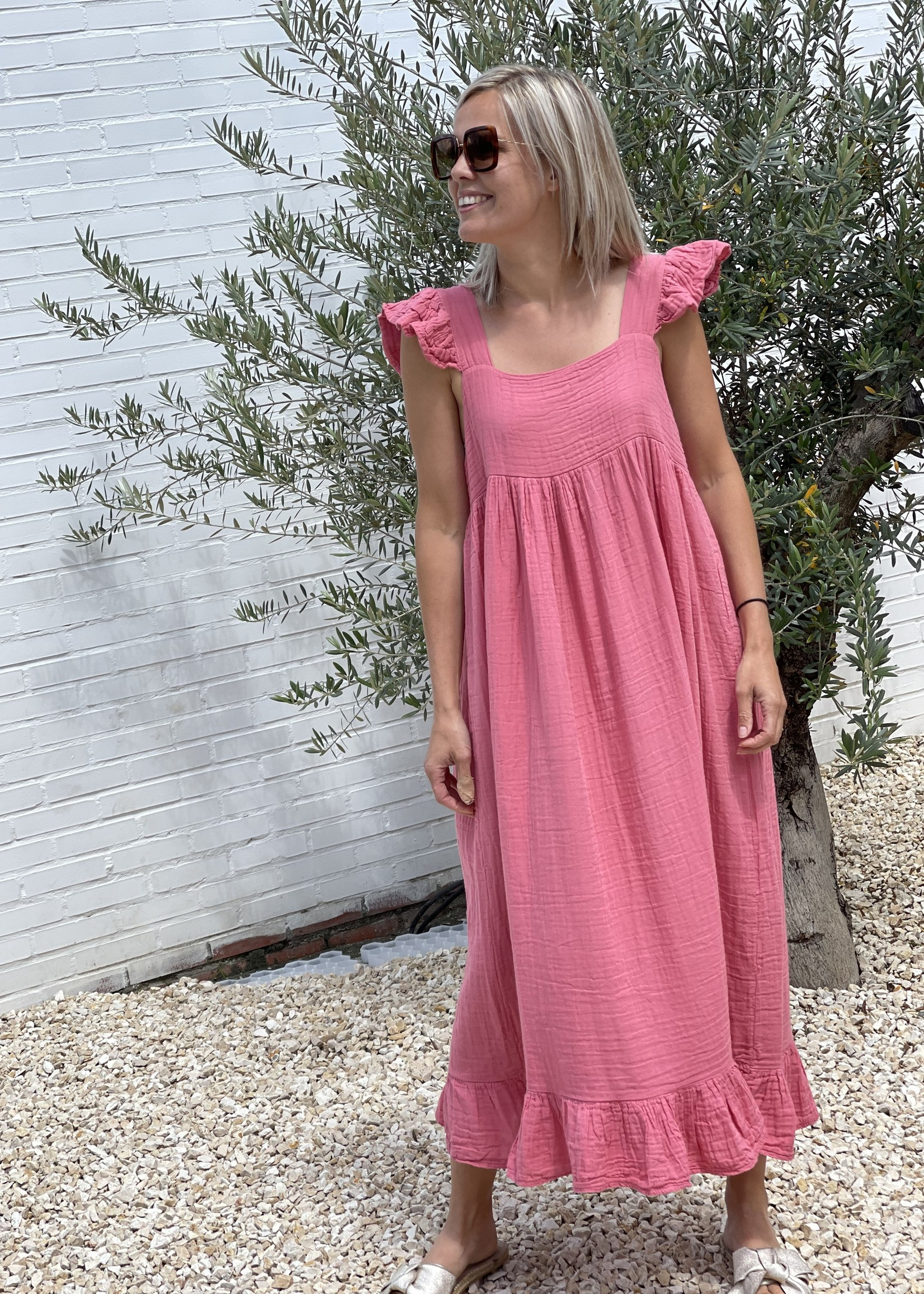Guts & Goats Scarletta Pinky Dress