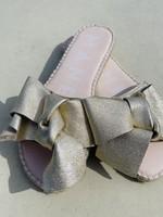 Guts & Goats Metallic Bow Sandal