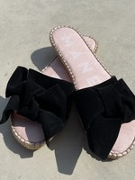 Guts & Goats Black Bow Sandals