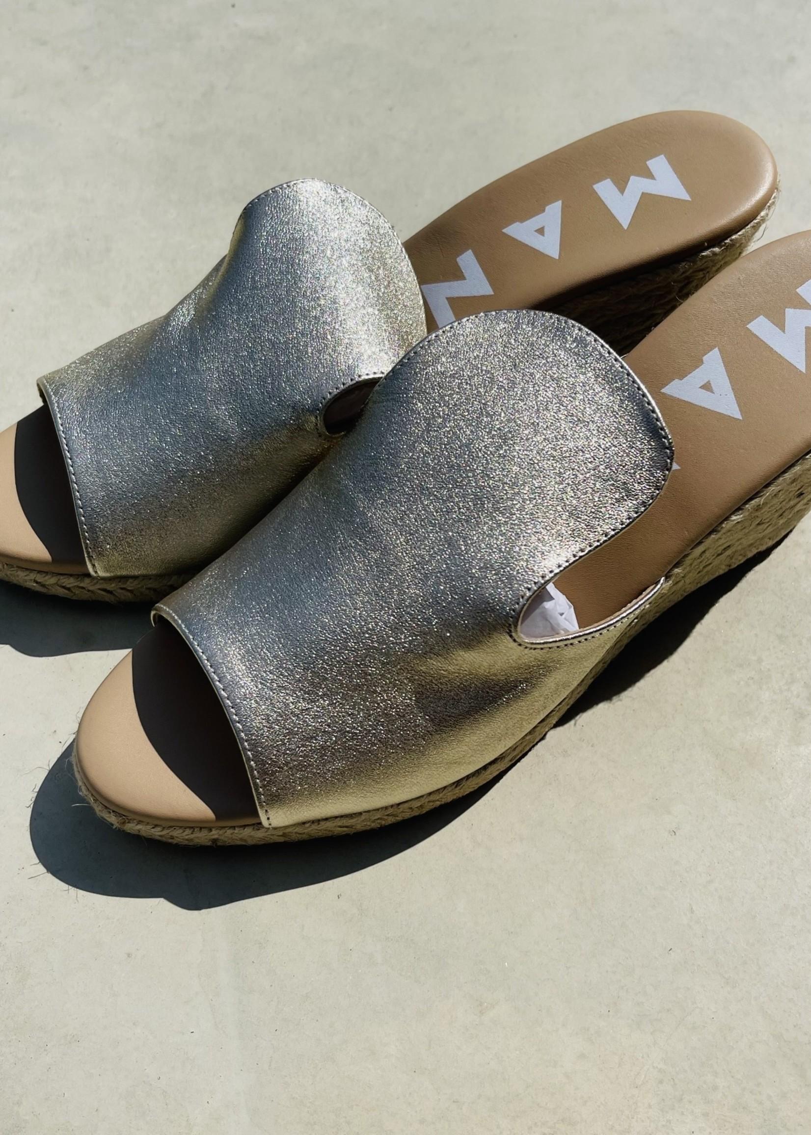 Guts & Goats Golden Sandals