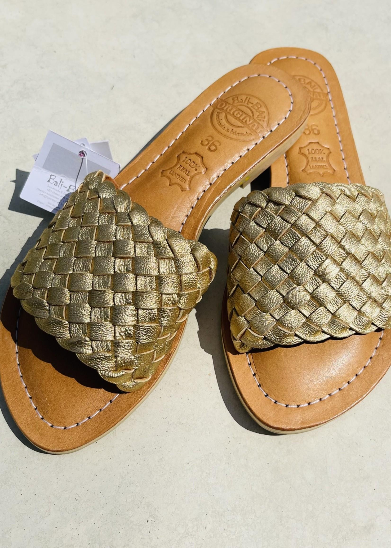 Guts & Goats Adriana Golden Sandals