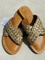 Guts & Goats Mariana Golden Sandals