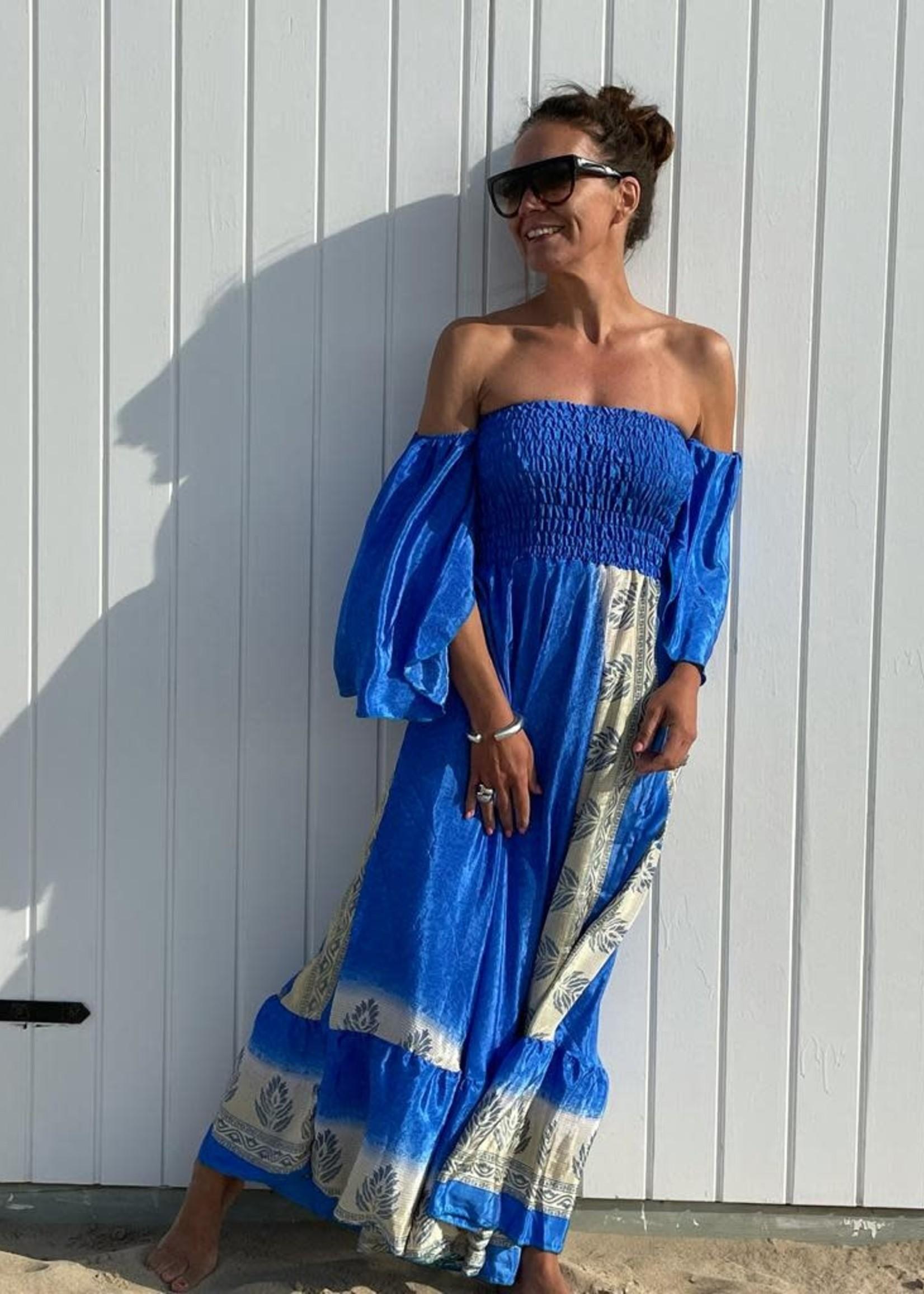 Guts & Goats Unique Blue Dress