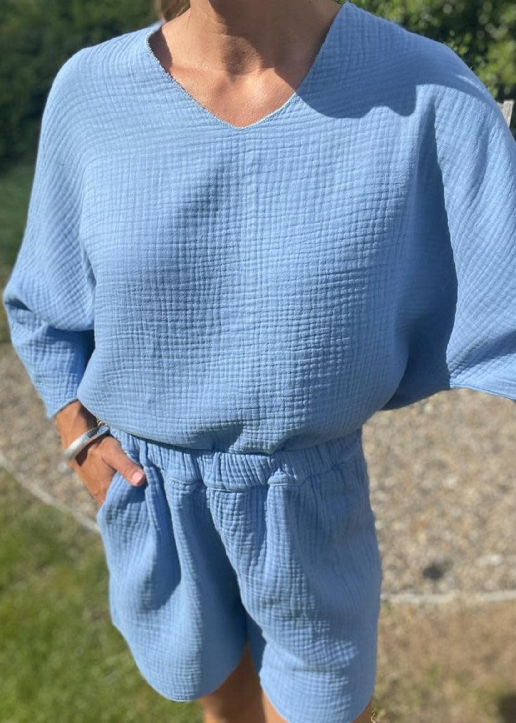 Guts & Goats Jersey Blue Suit