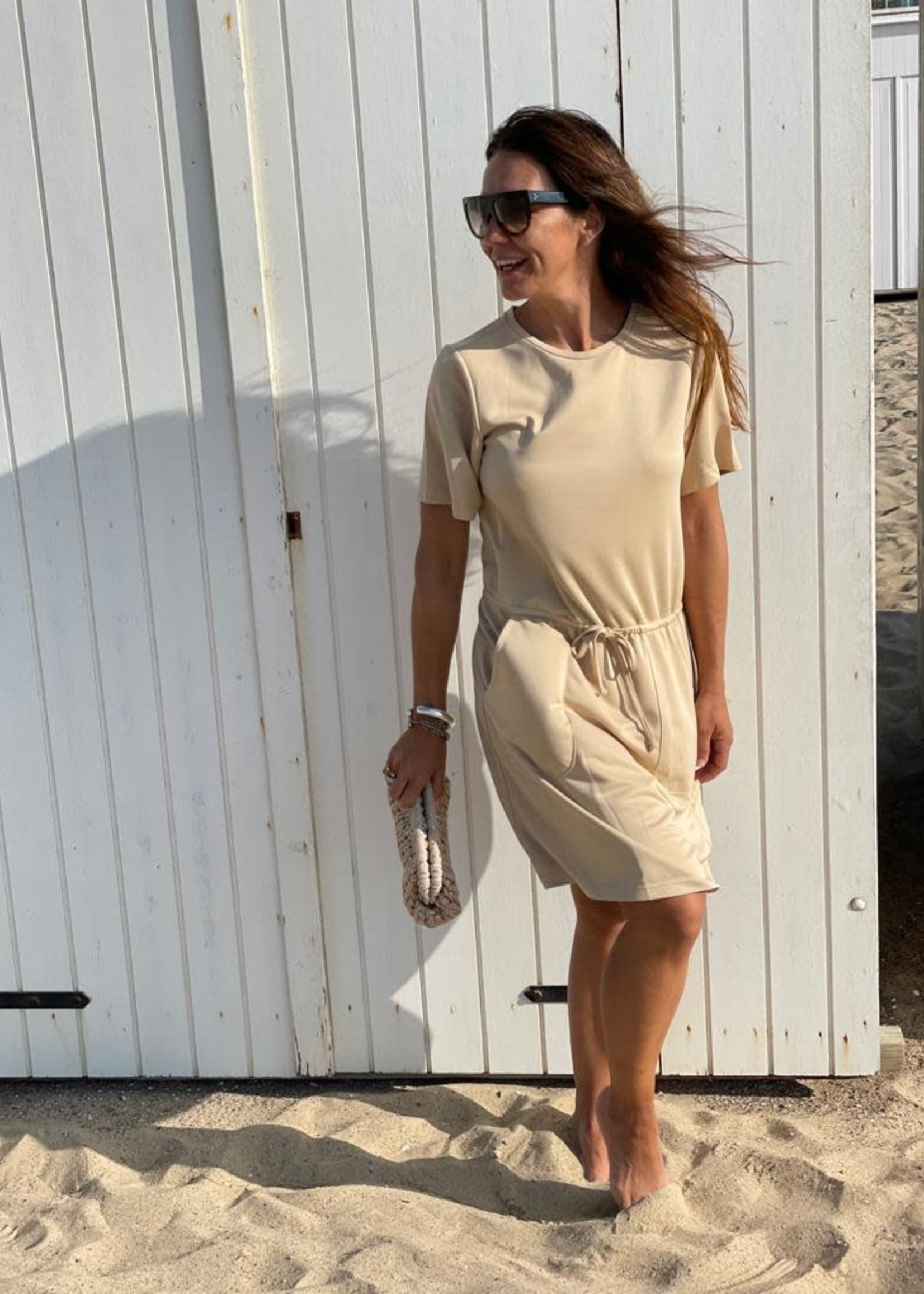 Guts & Goats Ginevra Creme Dress