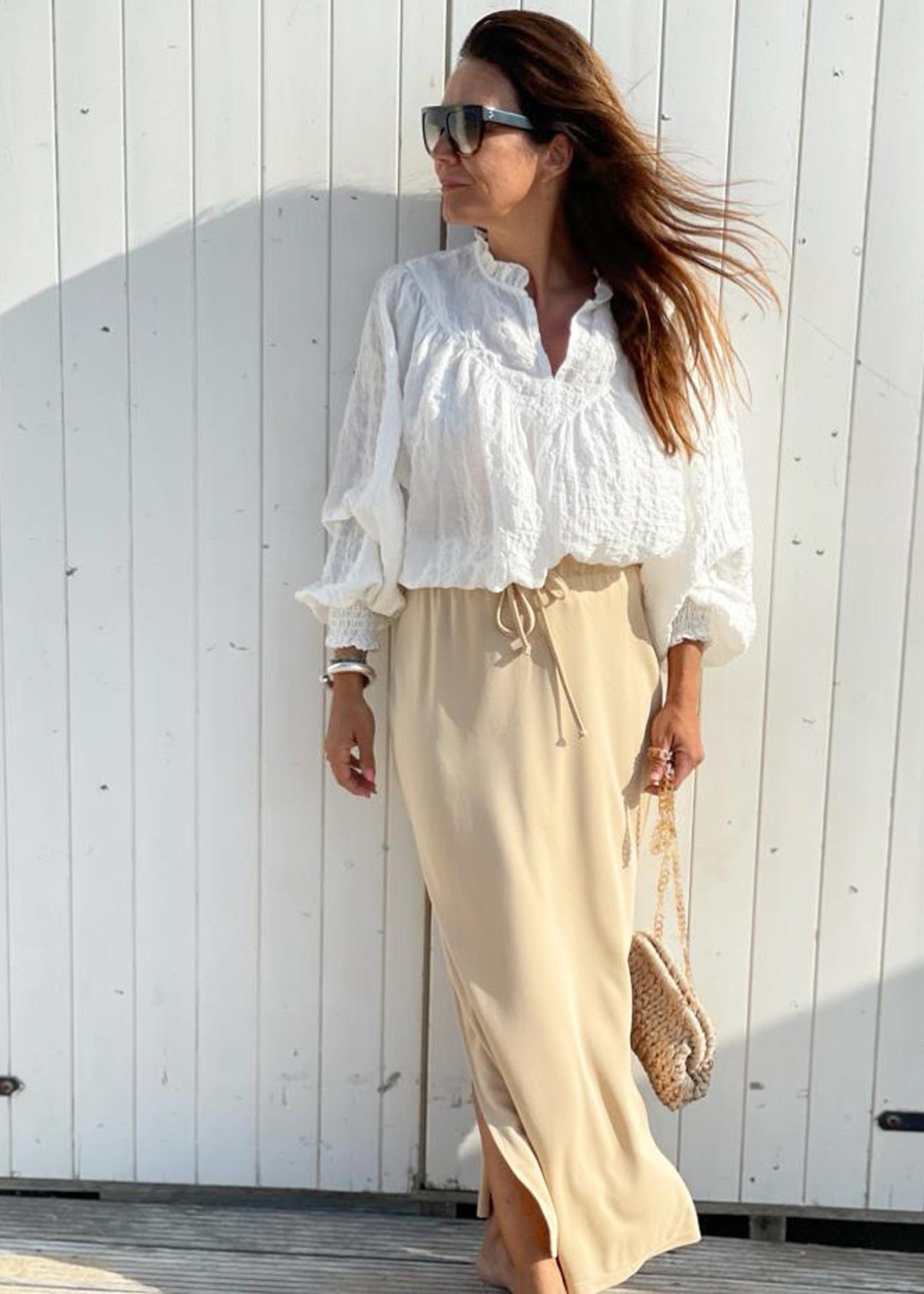 Guts & Goats Illi  Creme Skirt