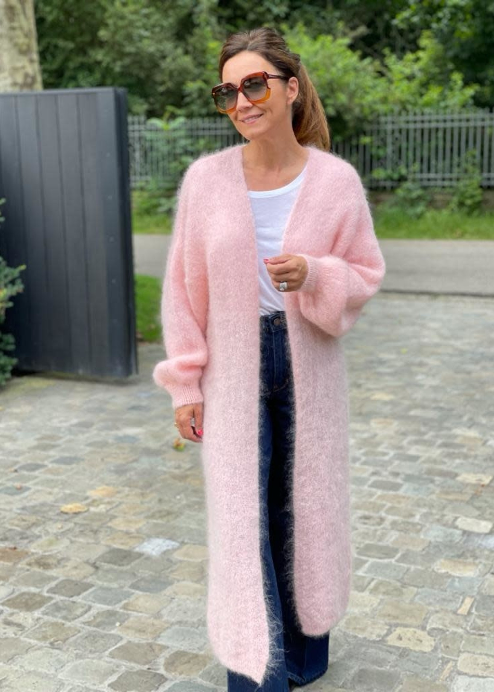 Guts & Goats Melanie Pink Gilet