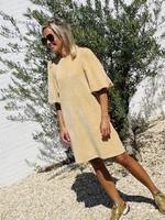 Guts & Goats Lucy Camel Dress