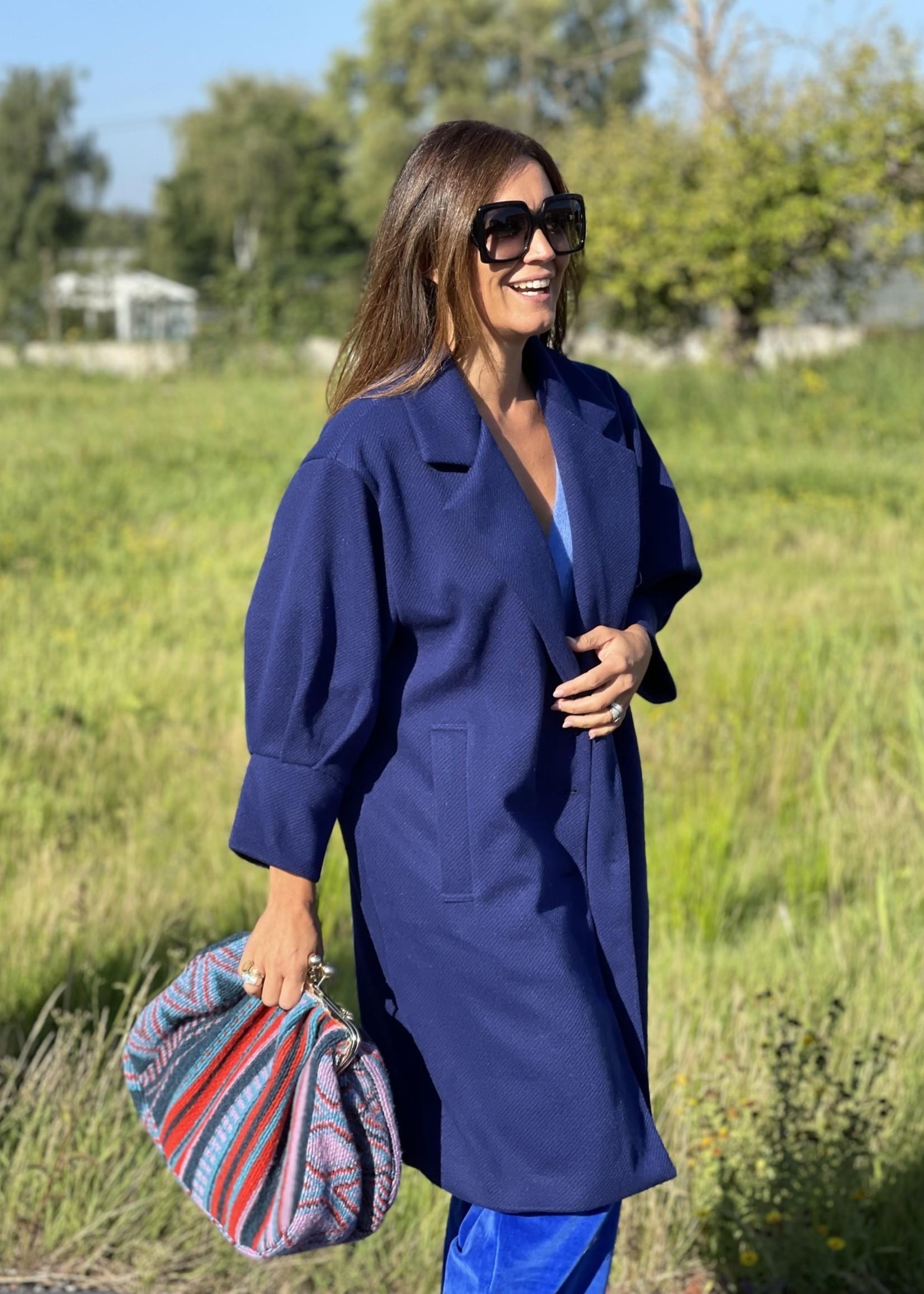 Guts & Goats Francesca Blue Coat
