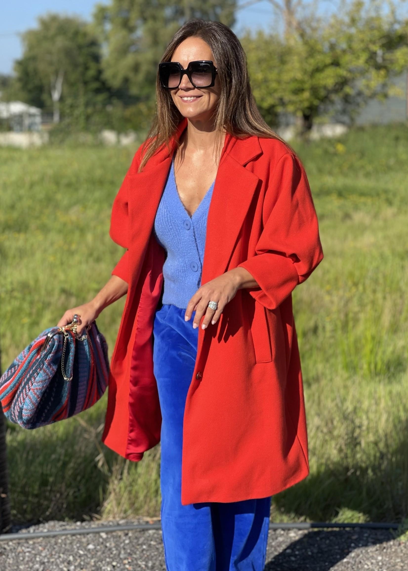 Guts & Goats Francesca Red Coat