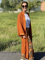 Guts & Goats Lluvia Rust Kimono