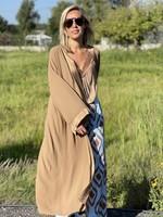 Guts & Goats Lluvia Beige Kimono