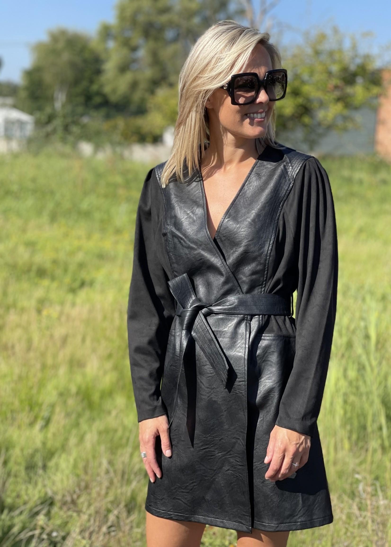 Guts & Goats Cleo Black Dress