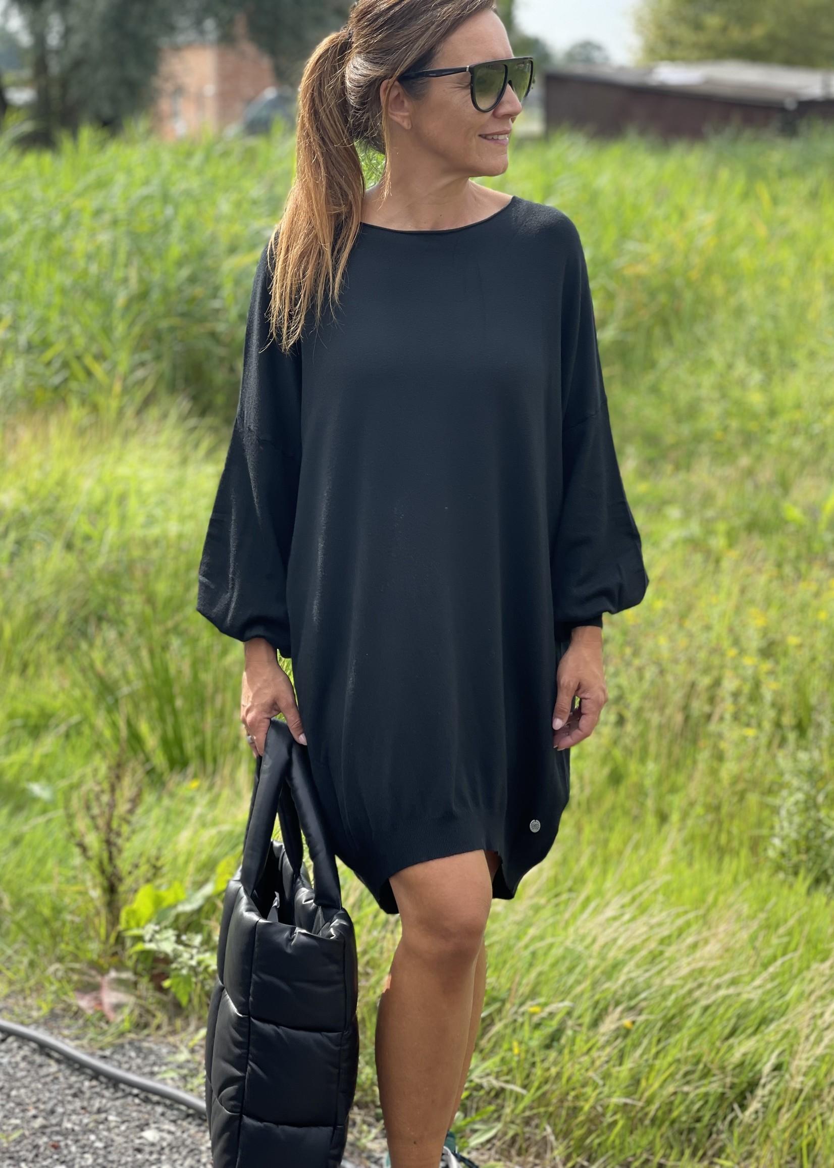 Guts & Goats Mona Black Dress