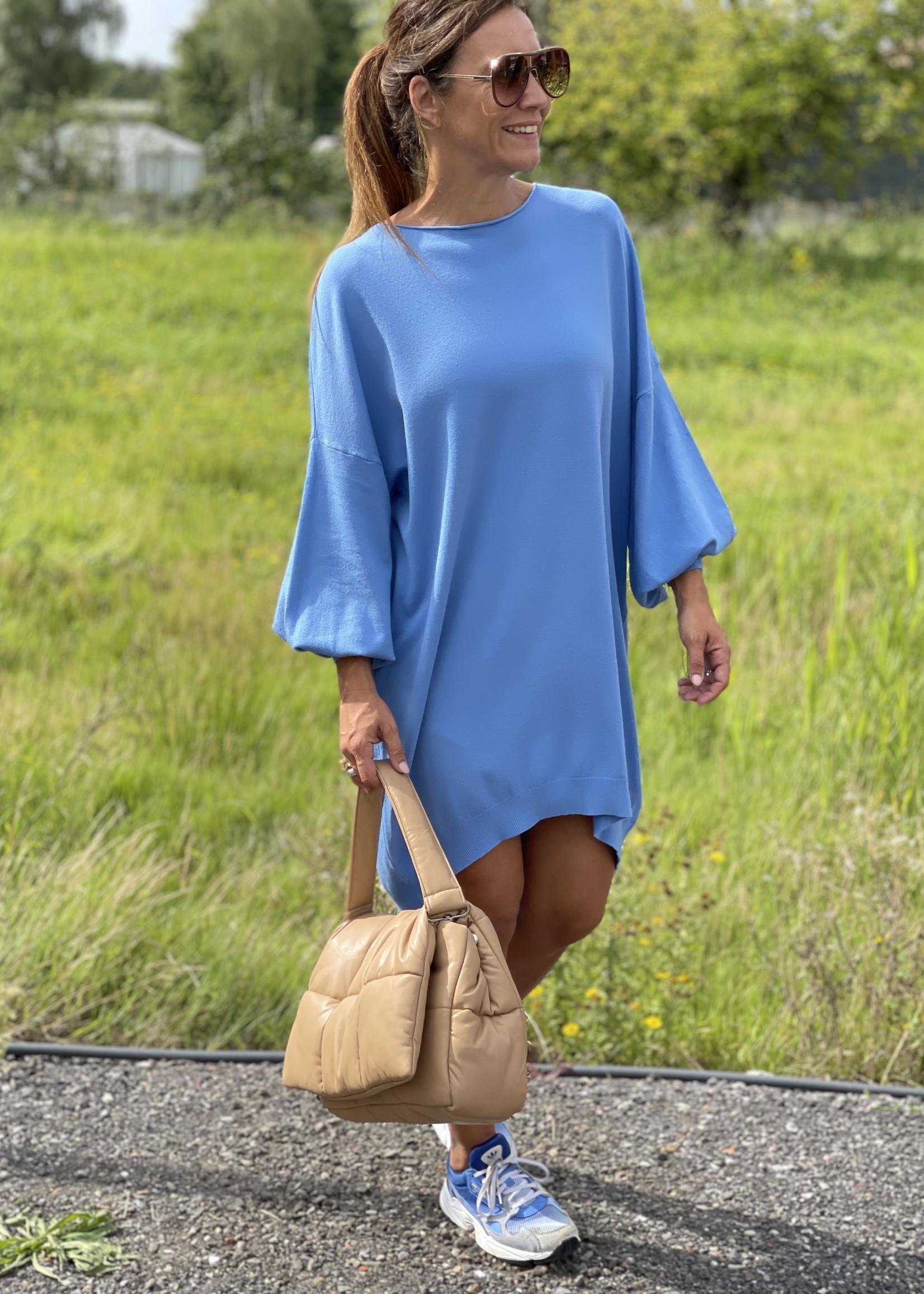 Guts & Goats Mona Blue Dress