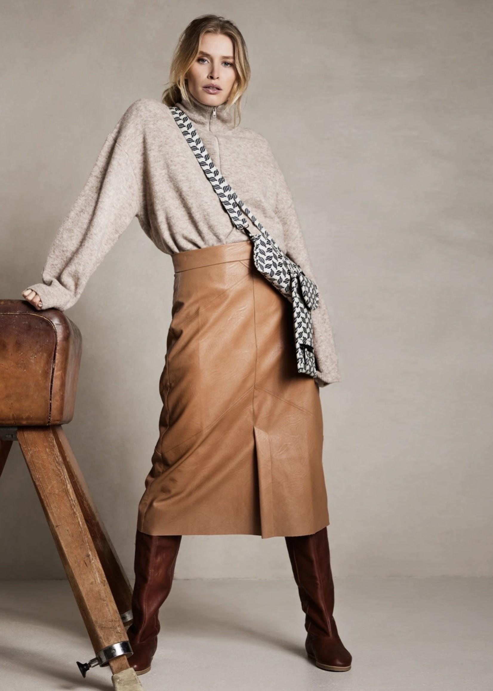 Guts & Goats Vegan Leather Skirt
