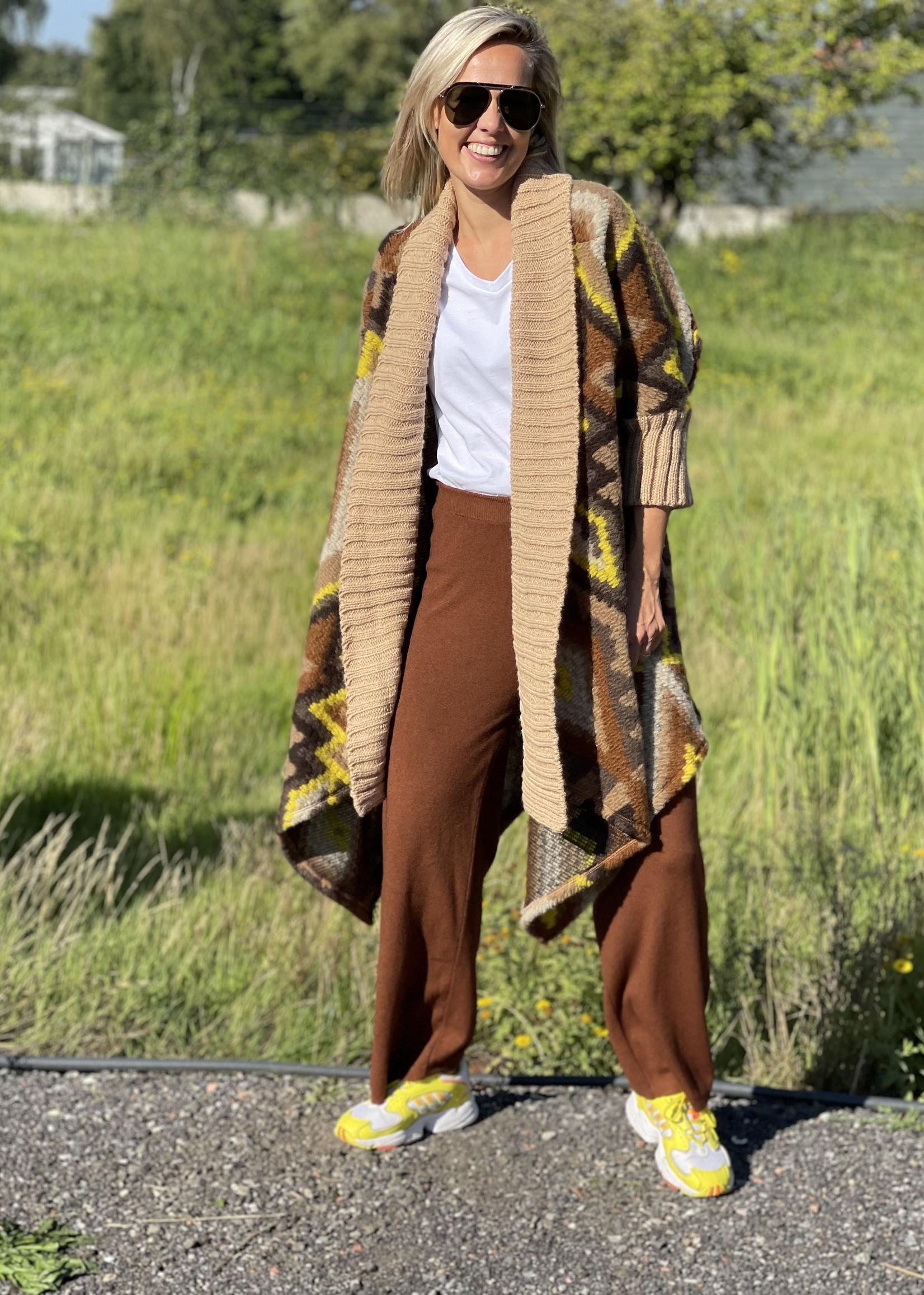 Guts & Goats Frida Brown Pants
