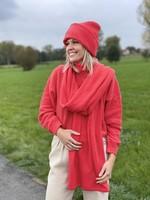 Guts & Goats Knit Red Beanie